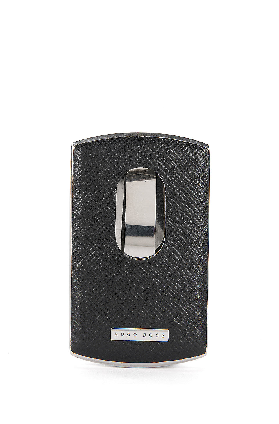 sports shoes af883 792eb BOSS - Signature Collection business card case in metal and leather