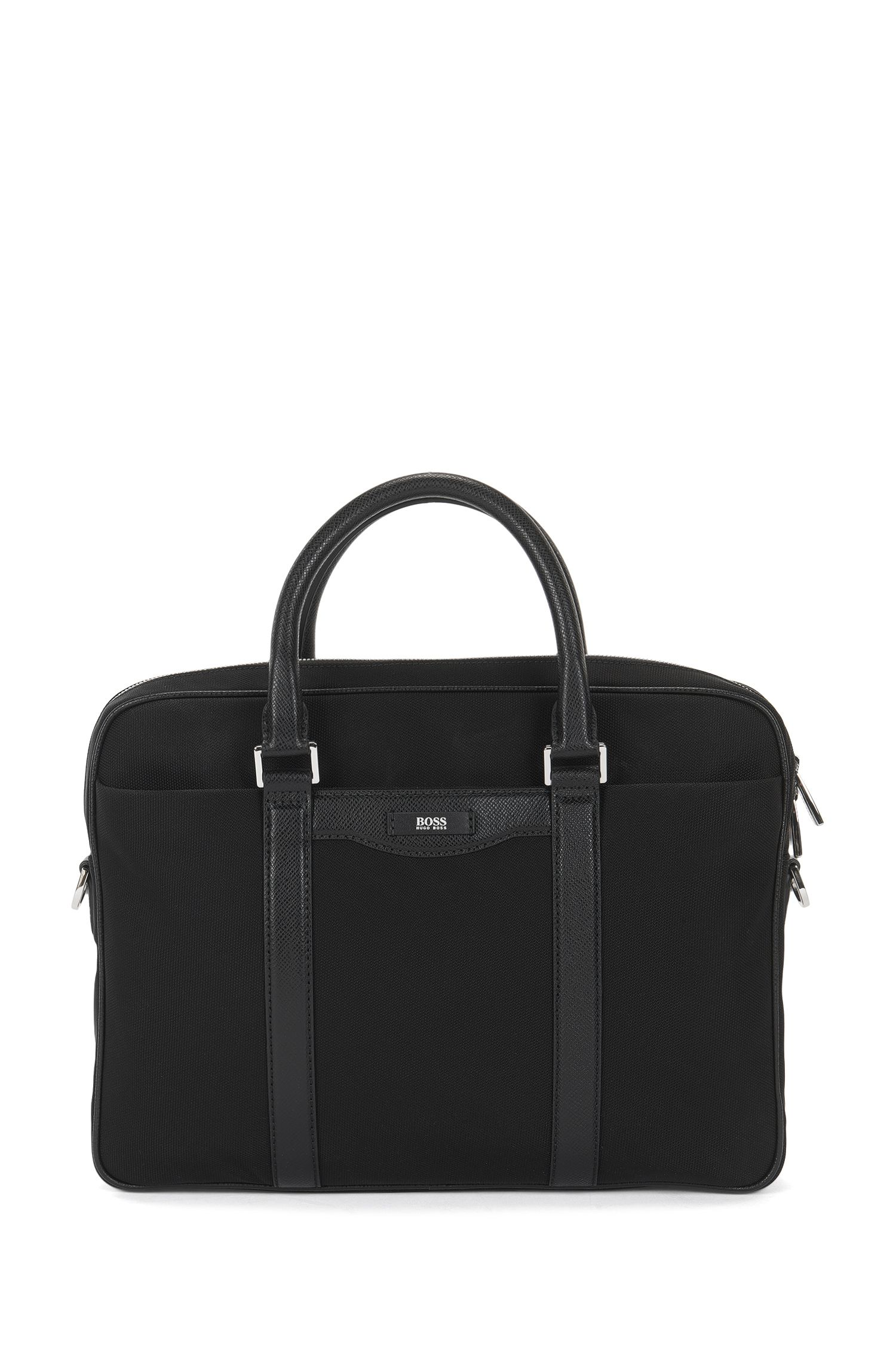Workbag uit de Signature Collection, met leren garneersels
