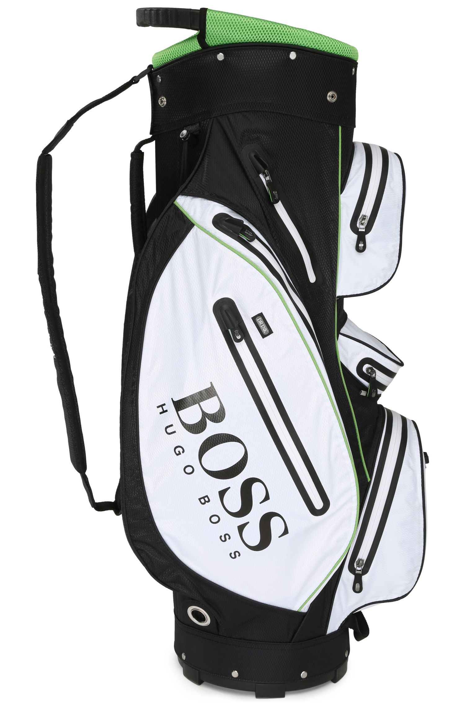 Golf bag in durable technical fabric