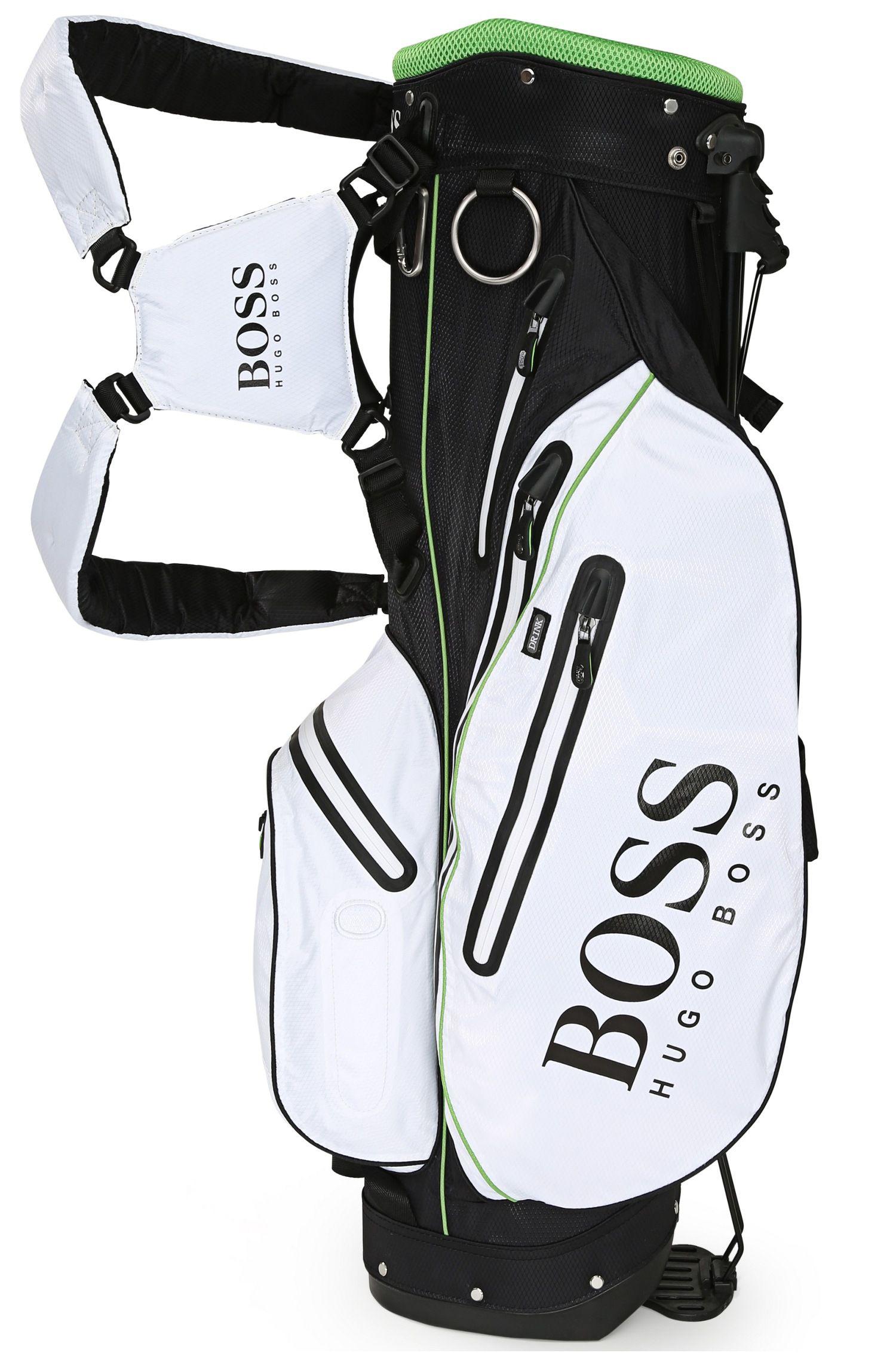 Leichte Golftasche aus Material-Mix mit Mesh-Details