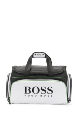 Borsa weekender in materiali misti: 'Golf_Holdall', Nero