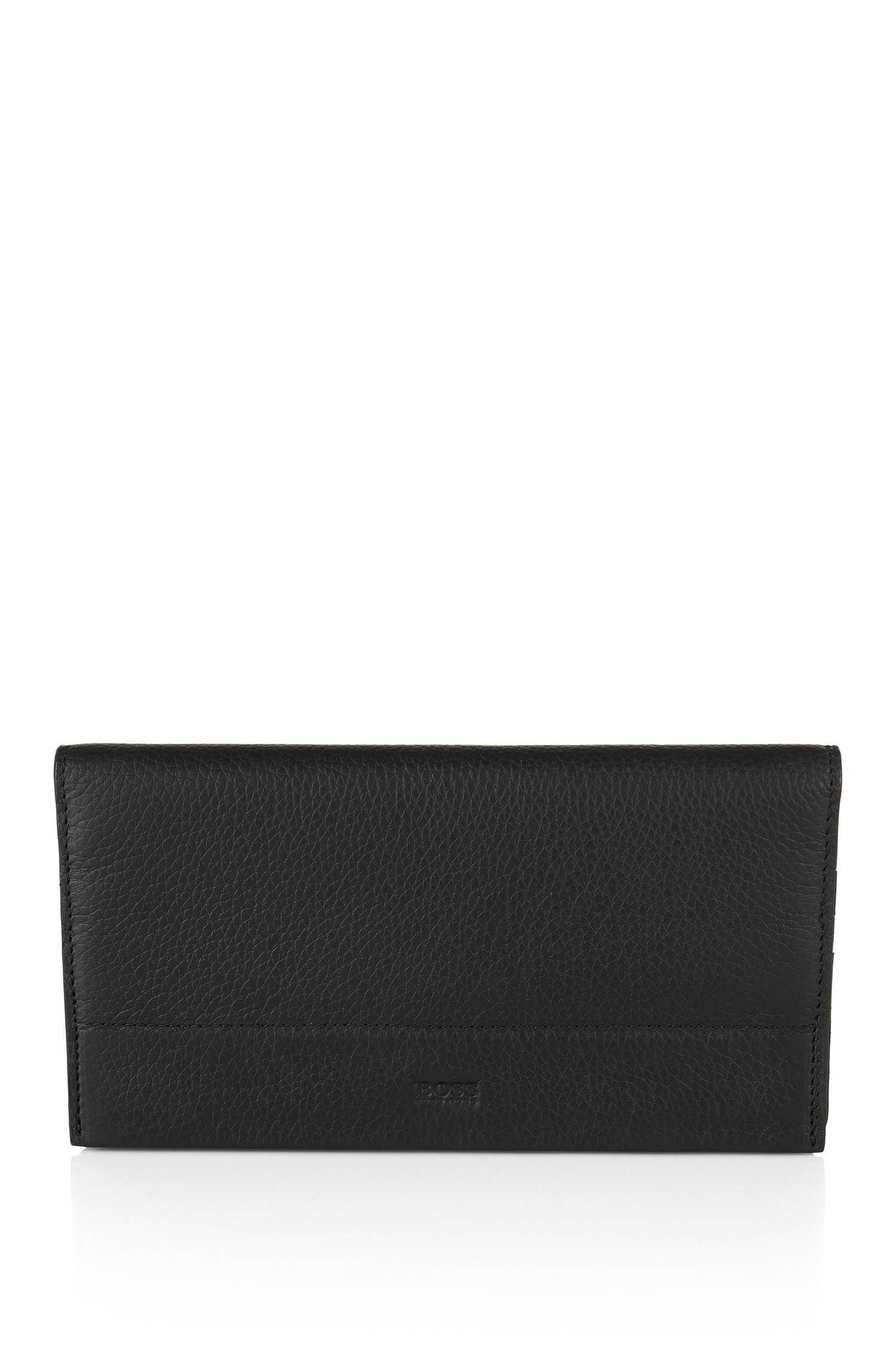 Leather wallet in continental format: 'Traveller_Cont'