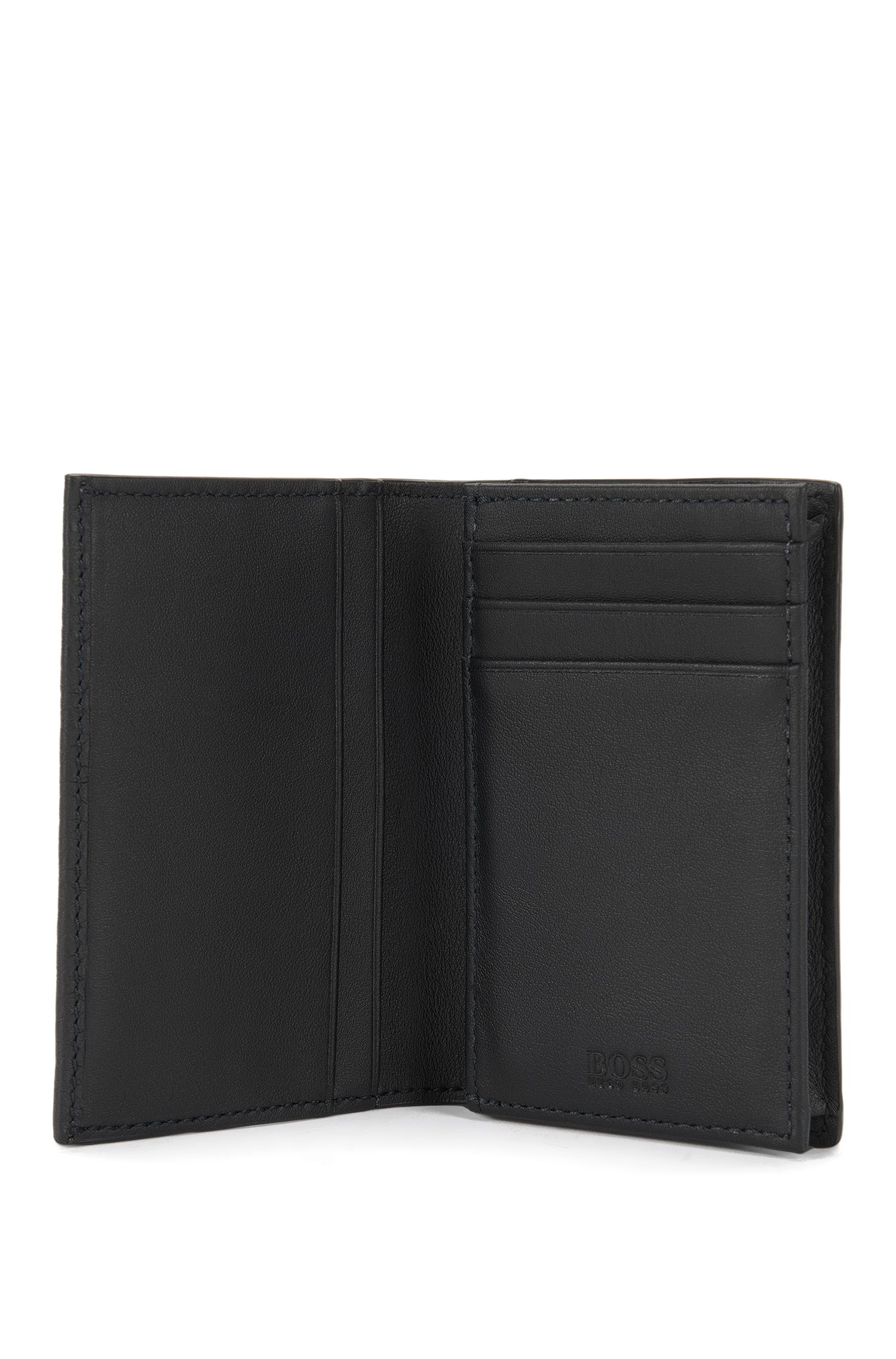 Porte-cartes en cuir grainé de la collection Traveller