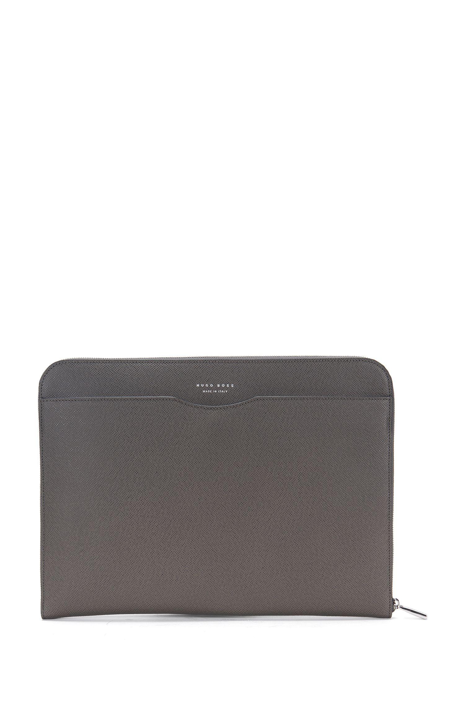 Porte-document de la collection Signature en cuir palmellato