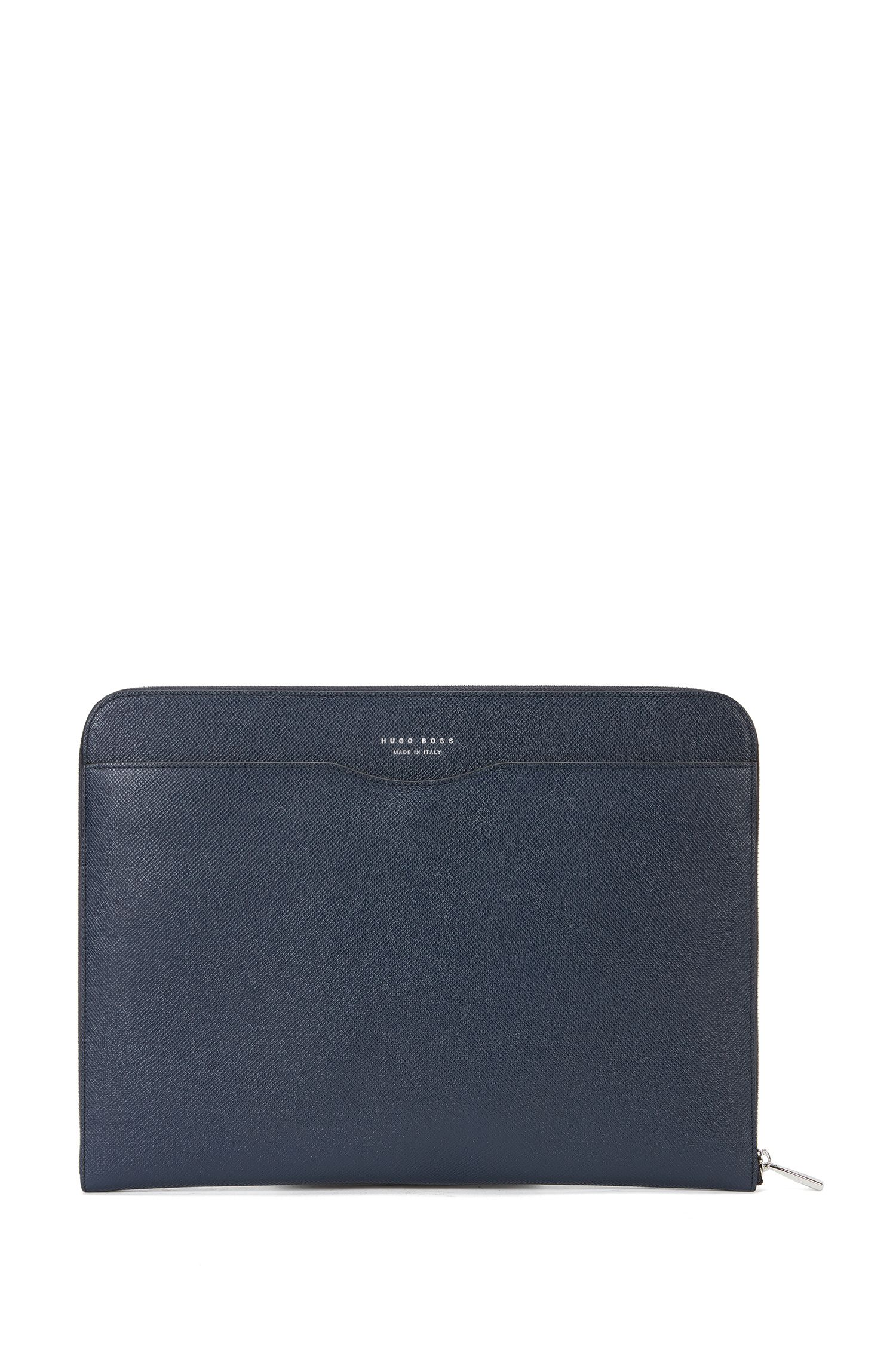 Signature Collection document case in palmellato leather