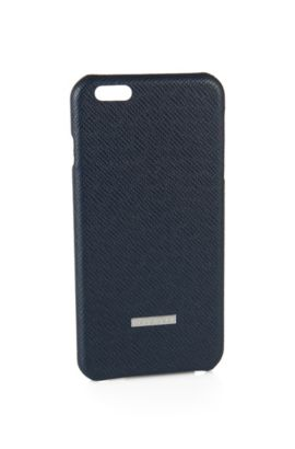 Smartphone cover for the iPhone 6 Plus: 'Signature_ Phone', Dark Blue