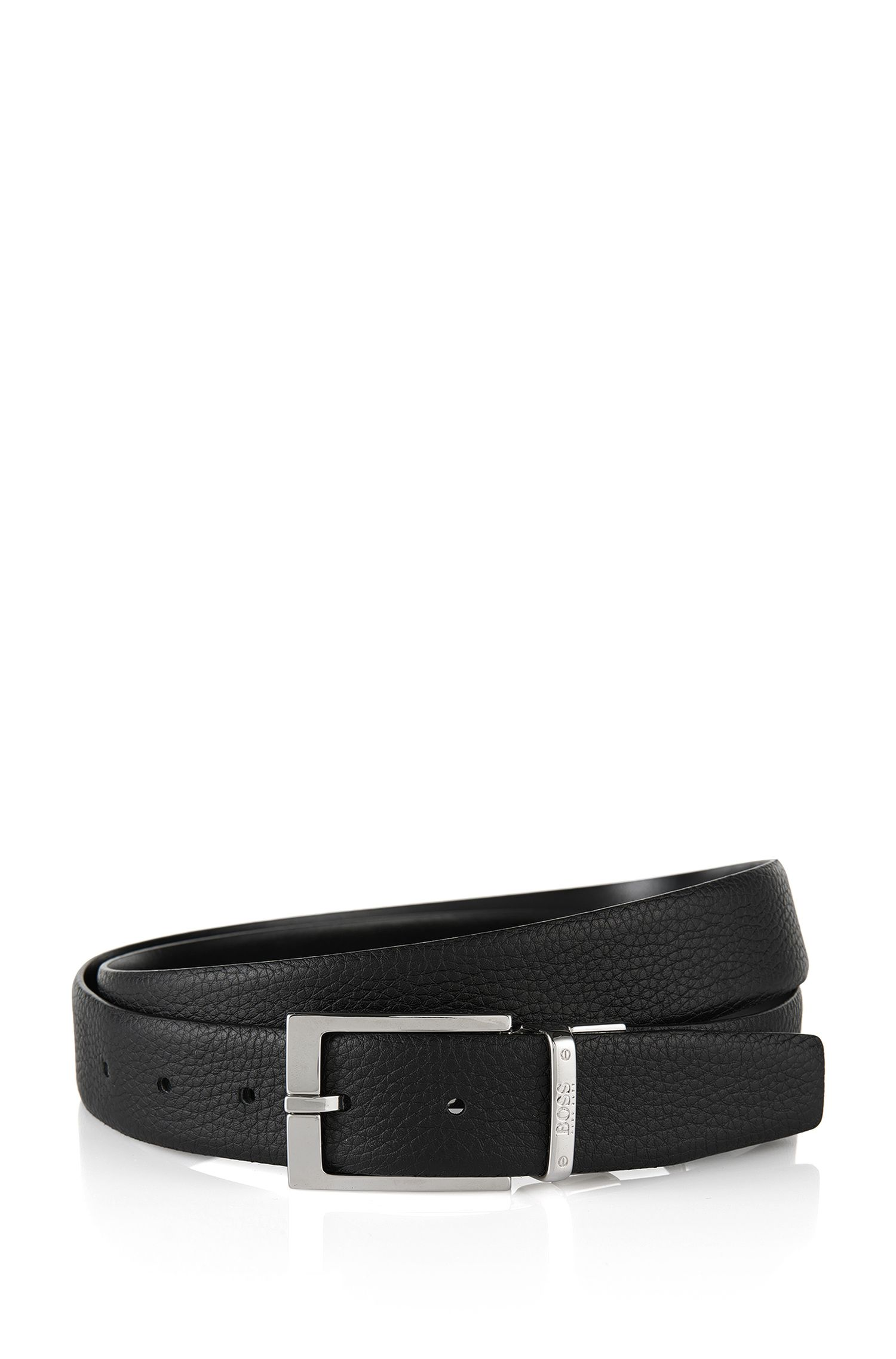 Reversible leather belt: 'Luzern'
