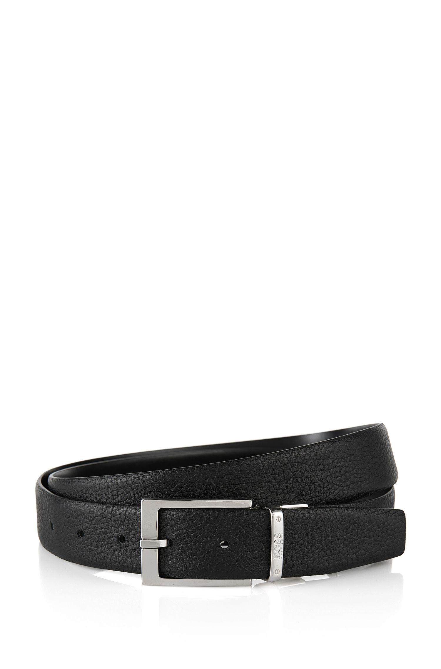 Cinturón reversible en piel: 'Luzern'
