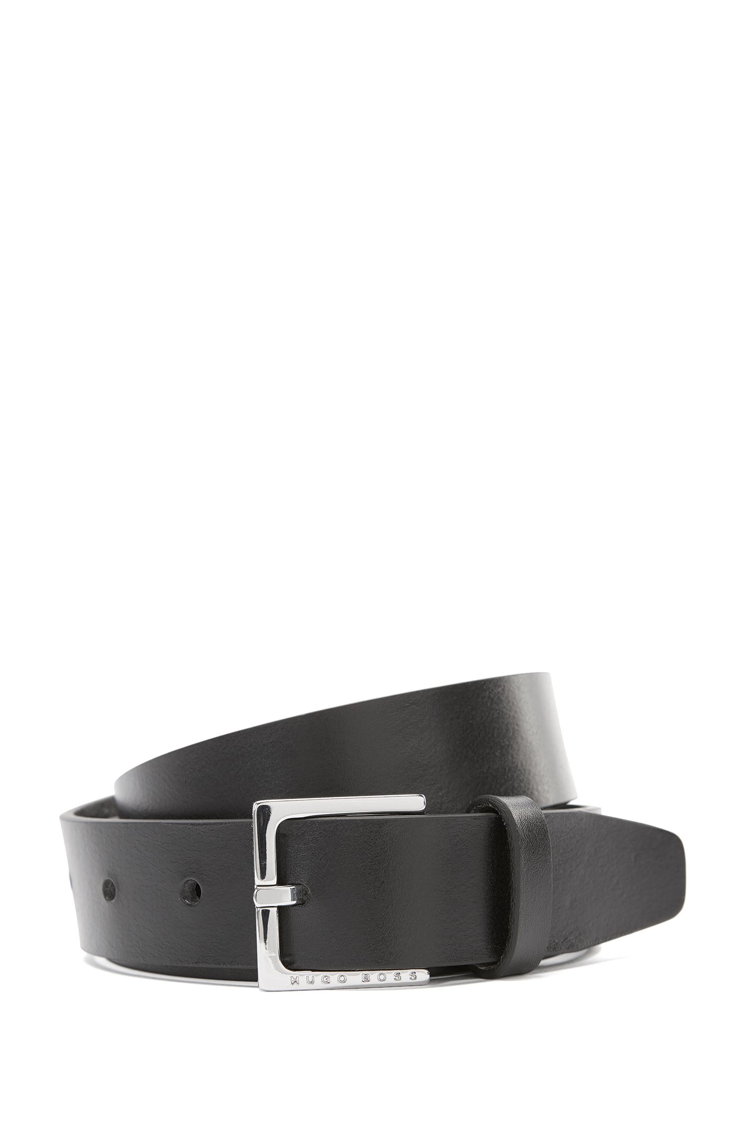 Belt in smooth leather: 'Cuoitos'