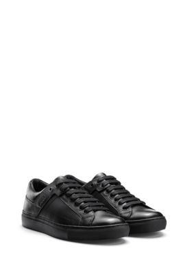 08293f7fa5b Tennis-inspired trainers in nappa leather