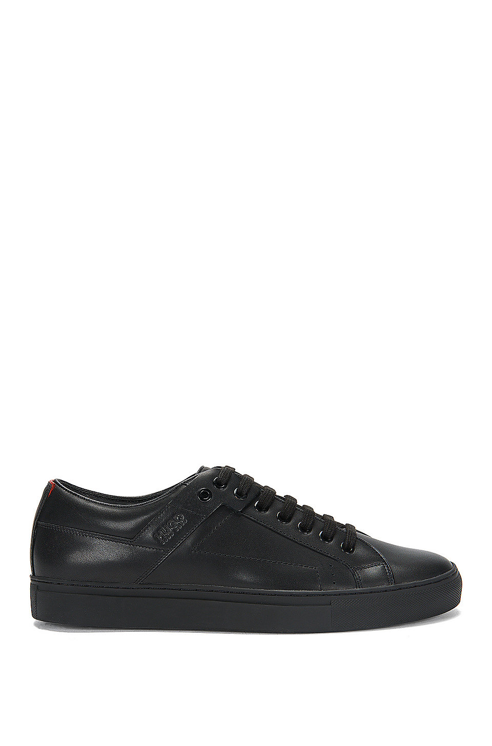 Hugo Vetersneakers Van Van Glad Hugo Nappaleer Vetersneakers Vetersneakers Glad Van Nappaleer Hugo FtHqwdq