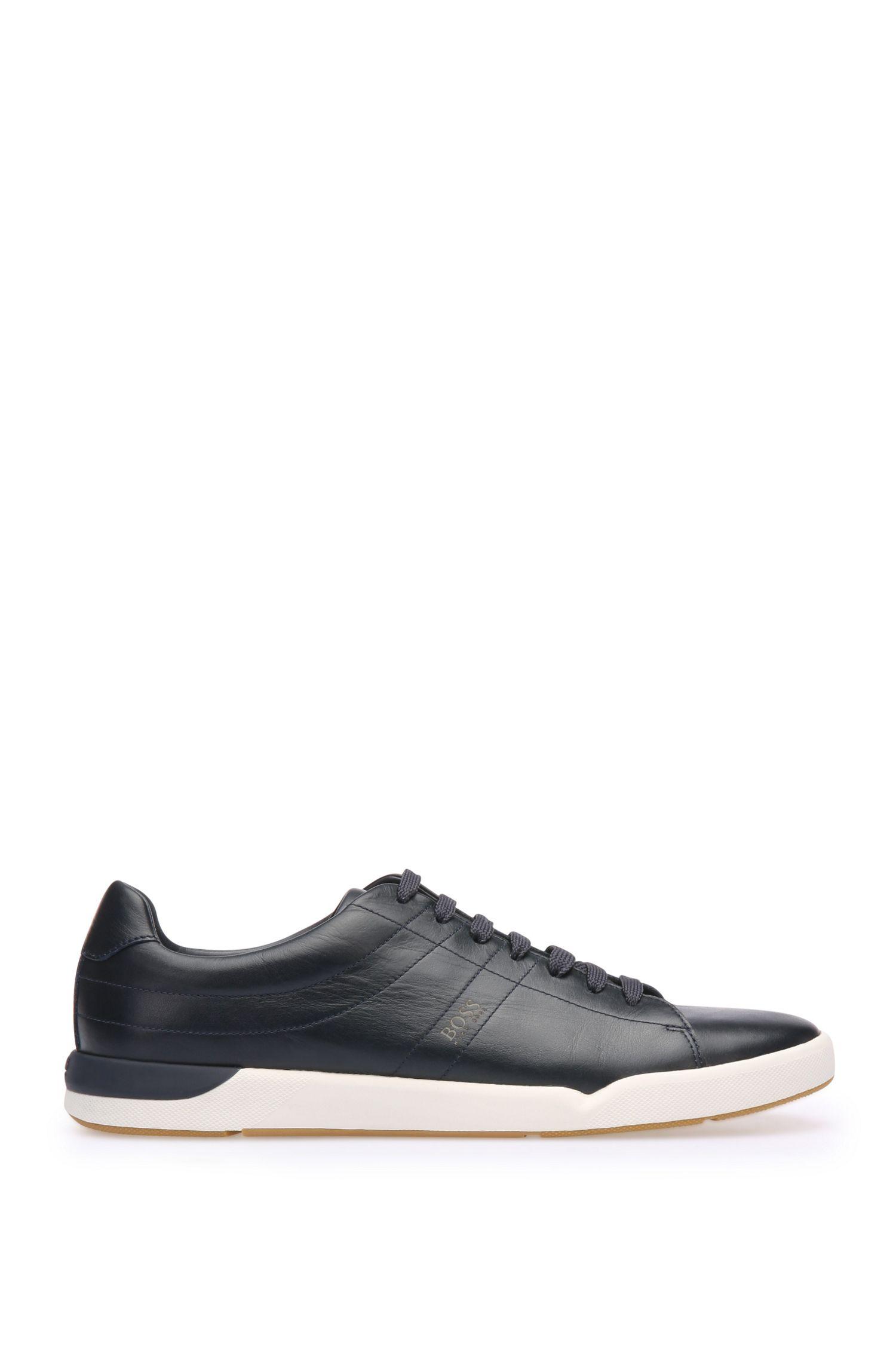 Sneakers van glad leer: 'Stillnes_Tenn_ltpl'