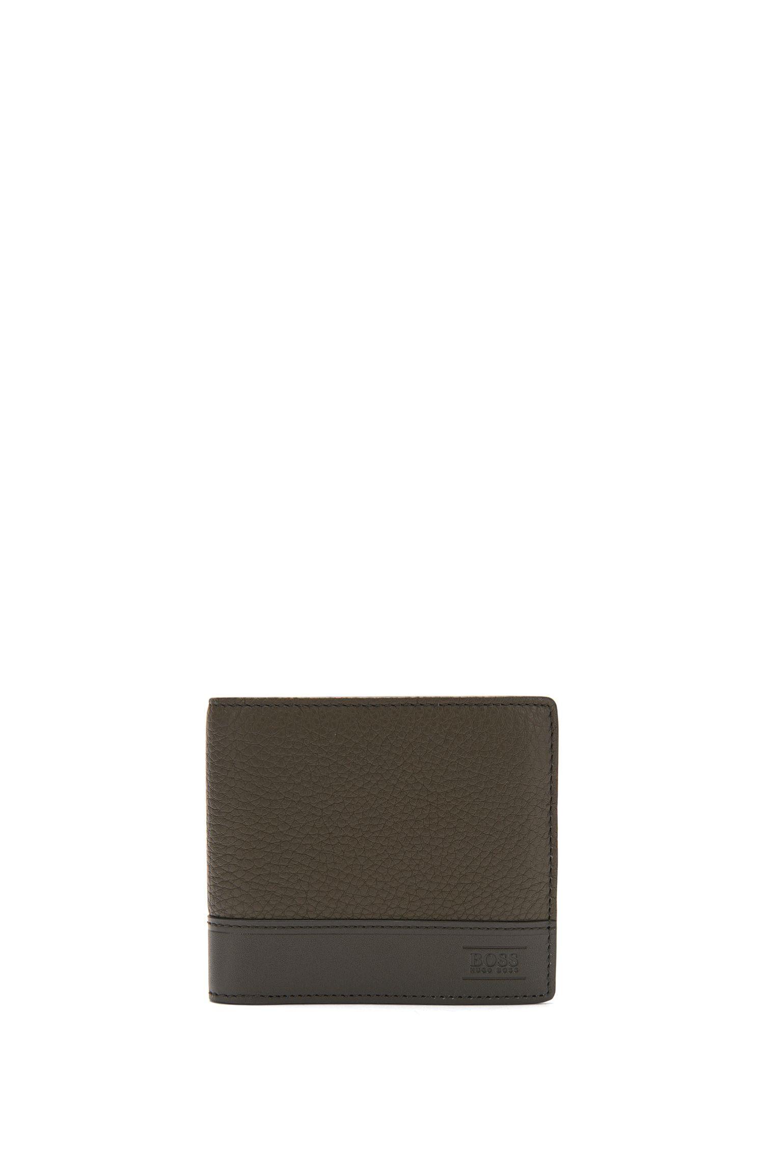 Geldbörse aus Leder mit Logo-Prägung: 'Aspen_8 cc'