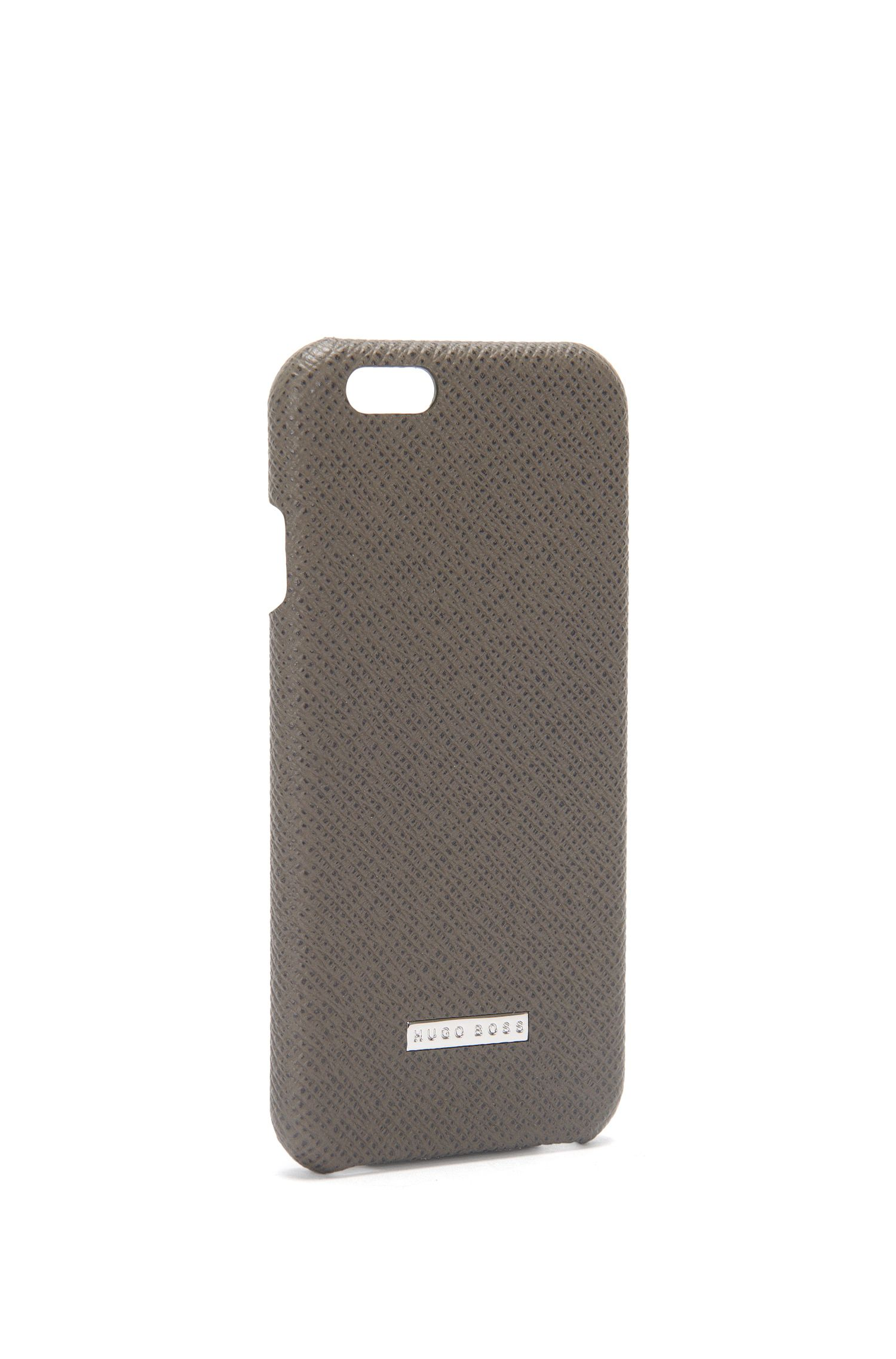 Coque de smartphone de la collection Signature en cuir palmellato