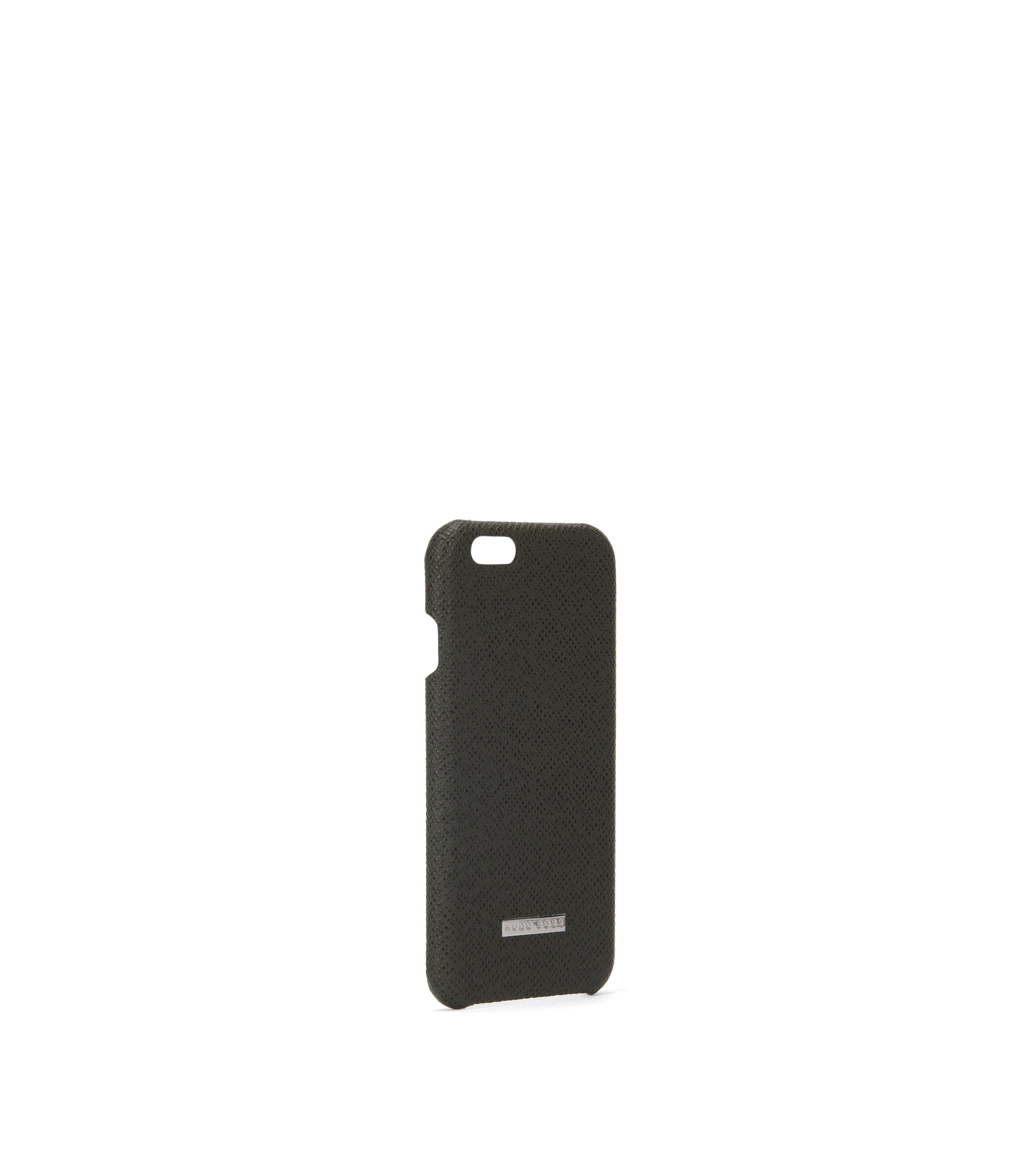 Signature Collection smartphone cover in palmellato leather, Dark Green