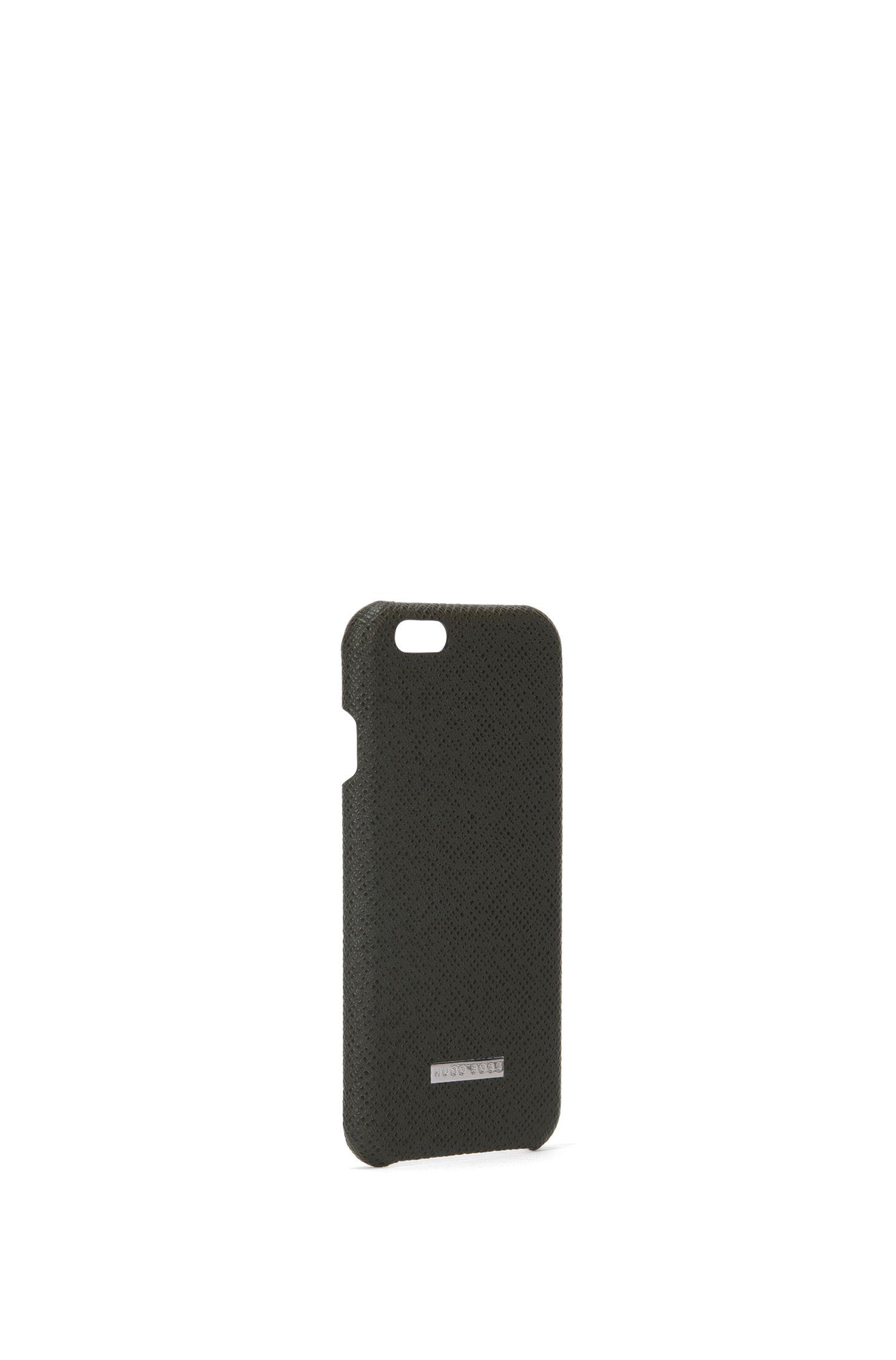 Smartphone-Hülle aus Palmellato-Leder aus der Signature Collection