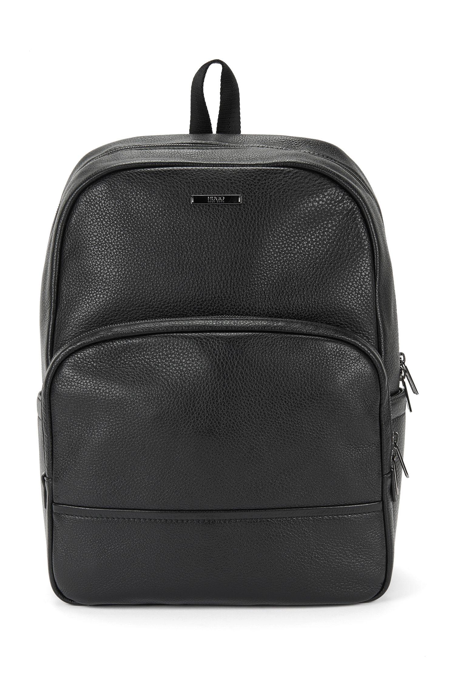 Sac à dos en cuir grainé: «Element_Backpack»