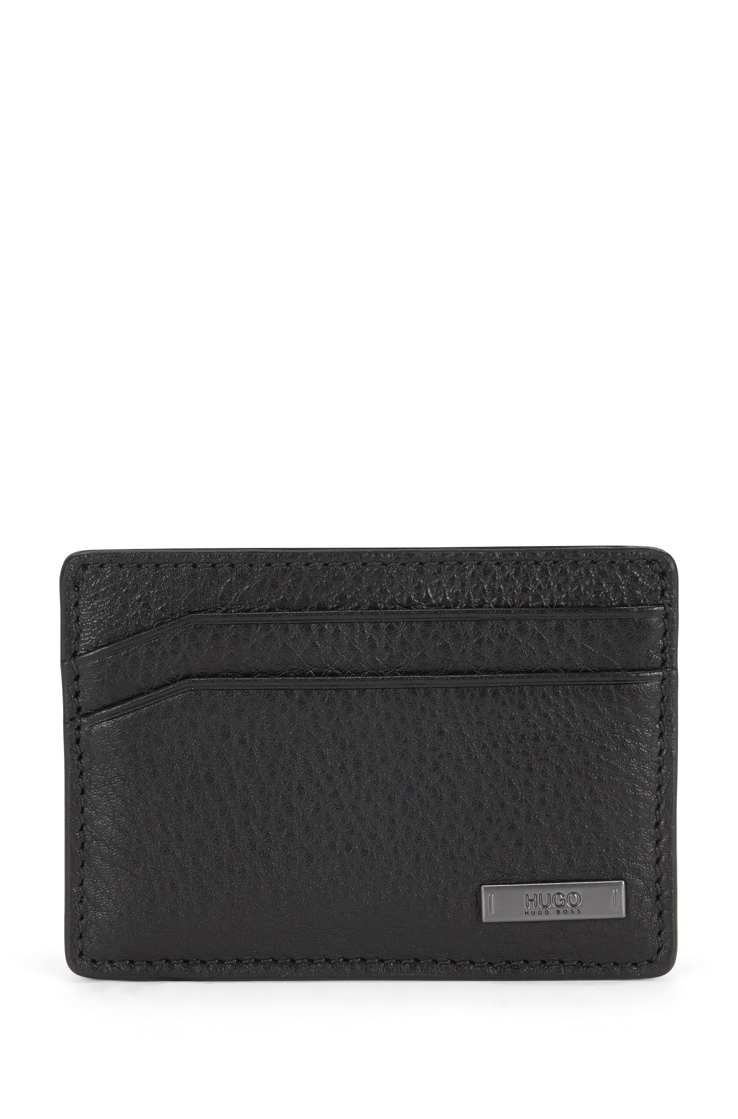 Card case in rich leather