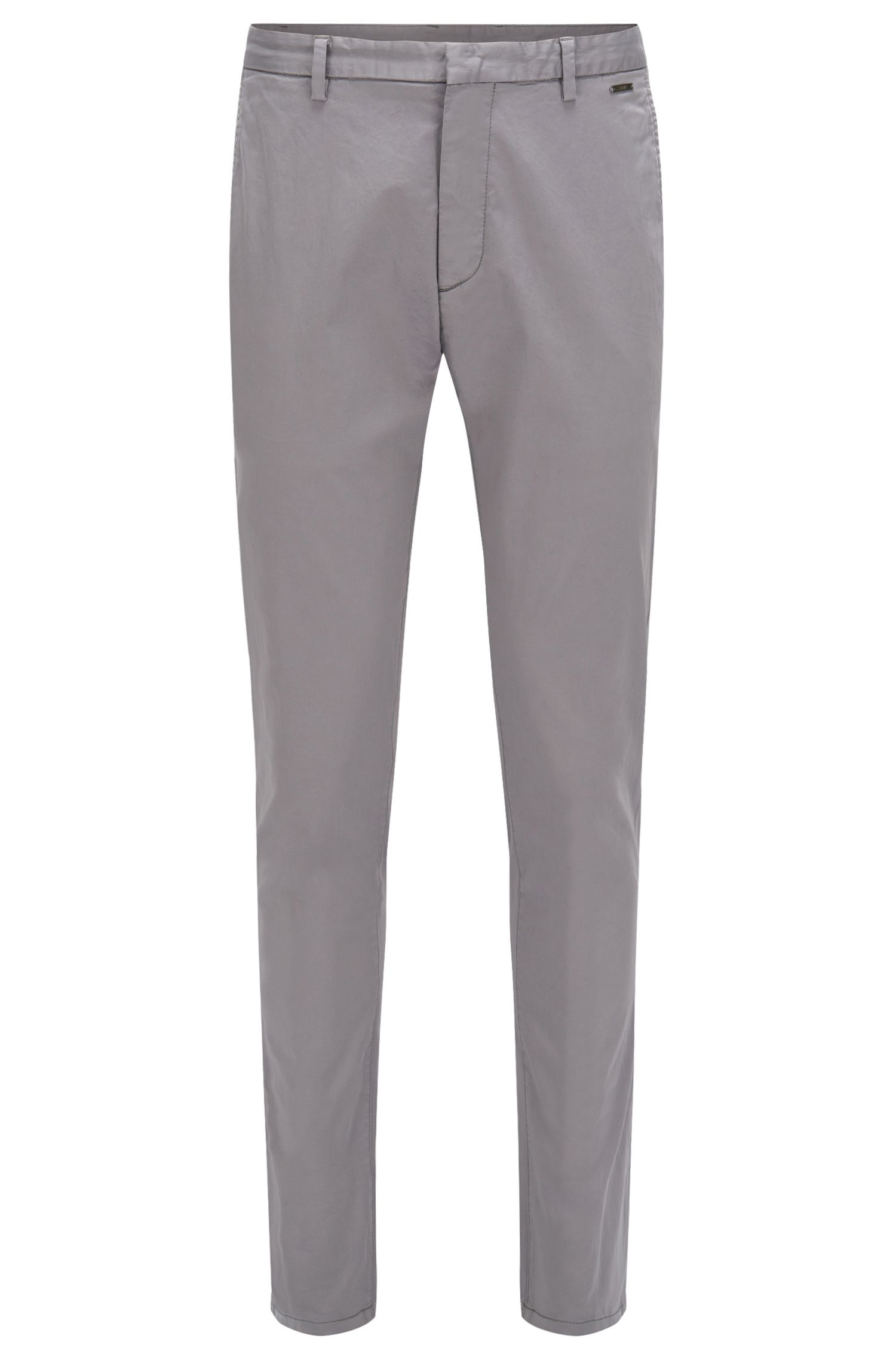 Chino Tapered Fit en coton extensible : « Helgo1-D »