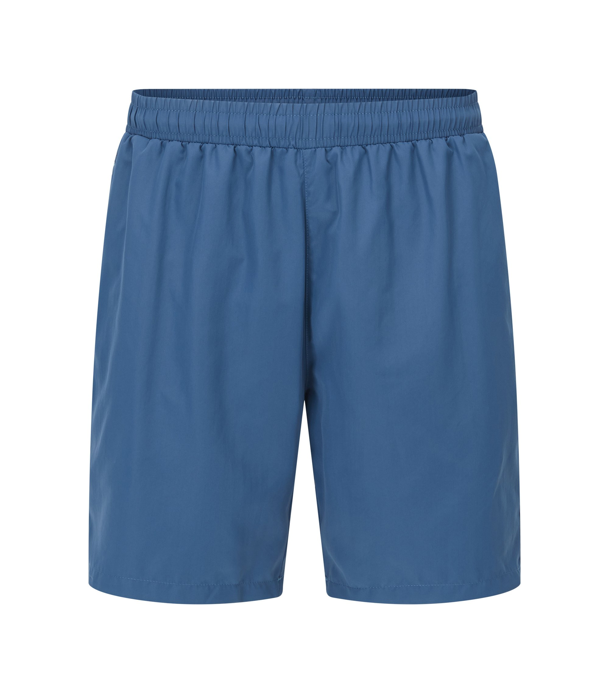 Swim shorts in quick-drying technical fabric, Dark Blue