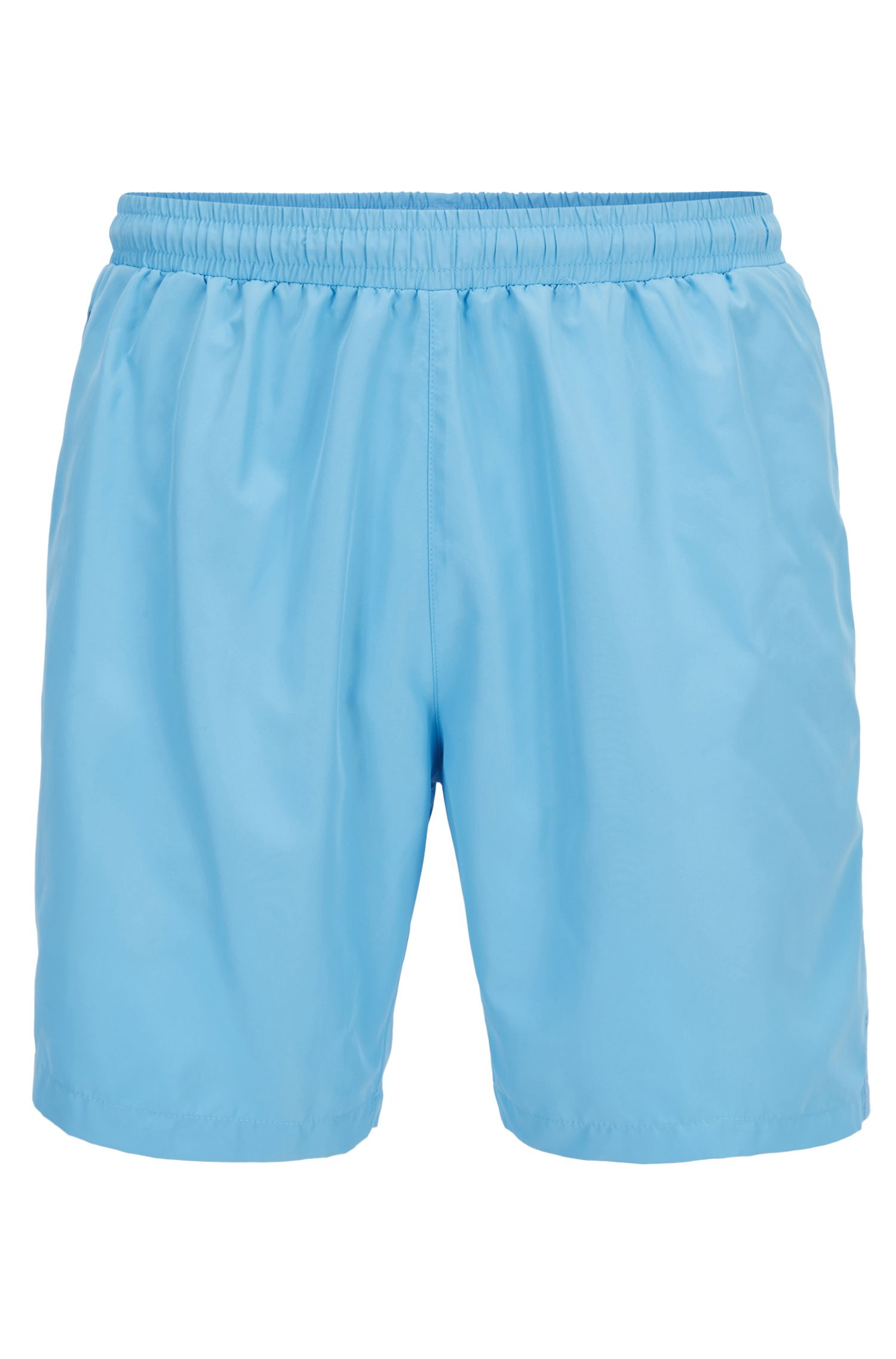 Swim shorts in quick-drying technical fabric