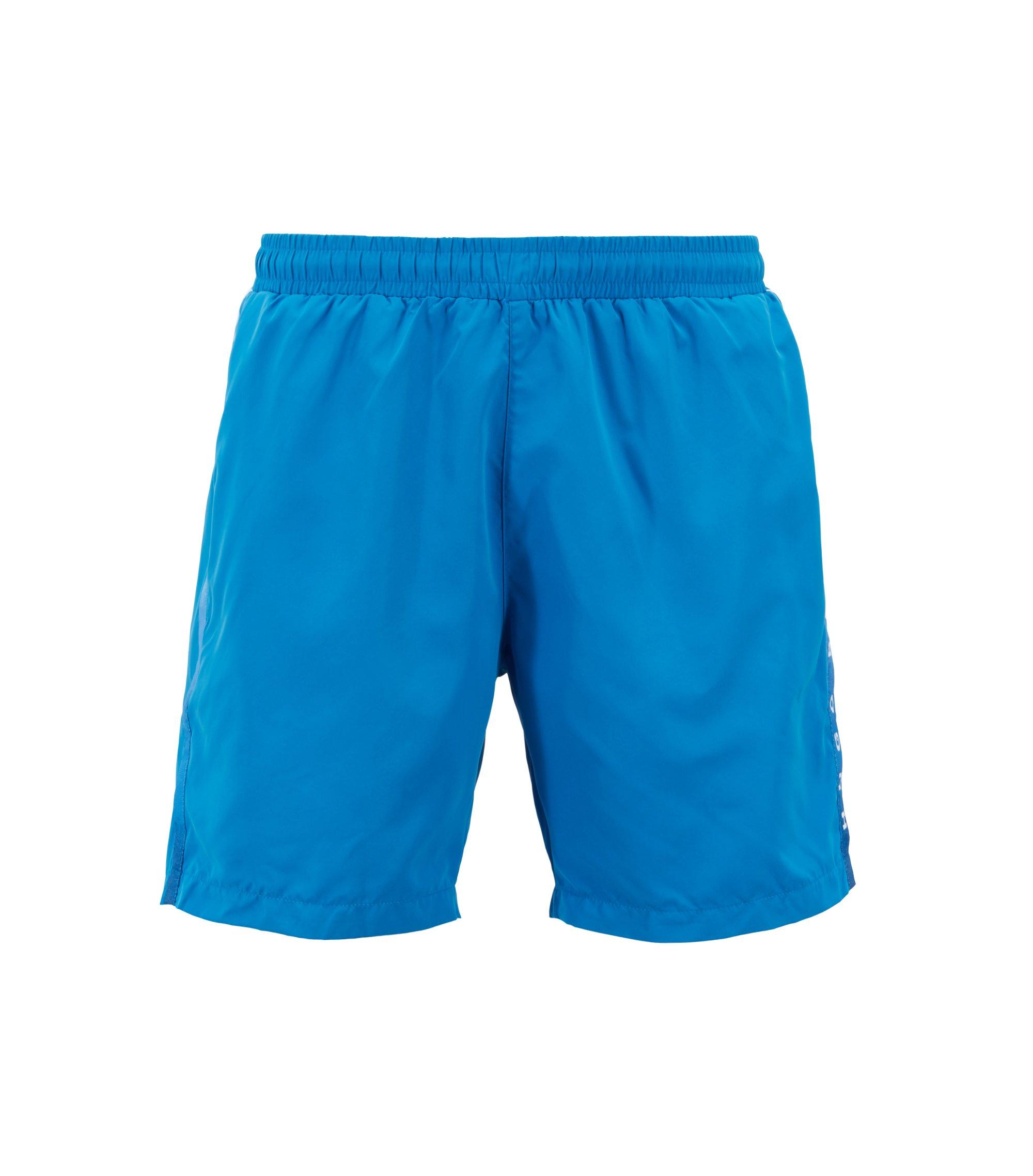 Zwemshort van sneldrogend, technisch materiaal, Lichtblauw
