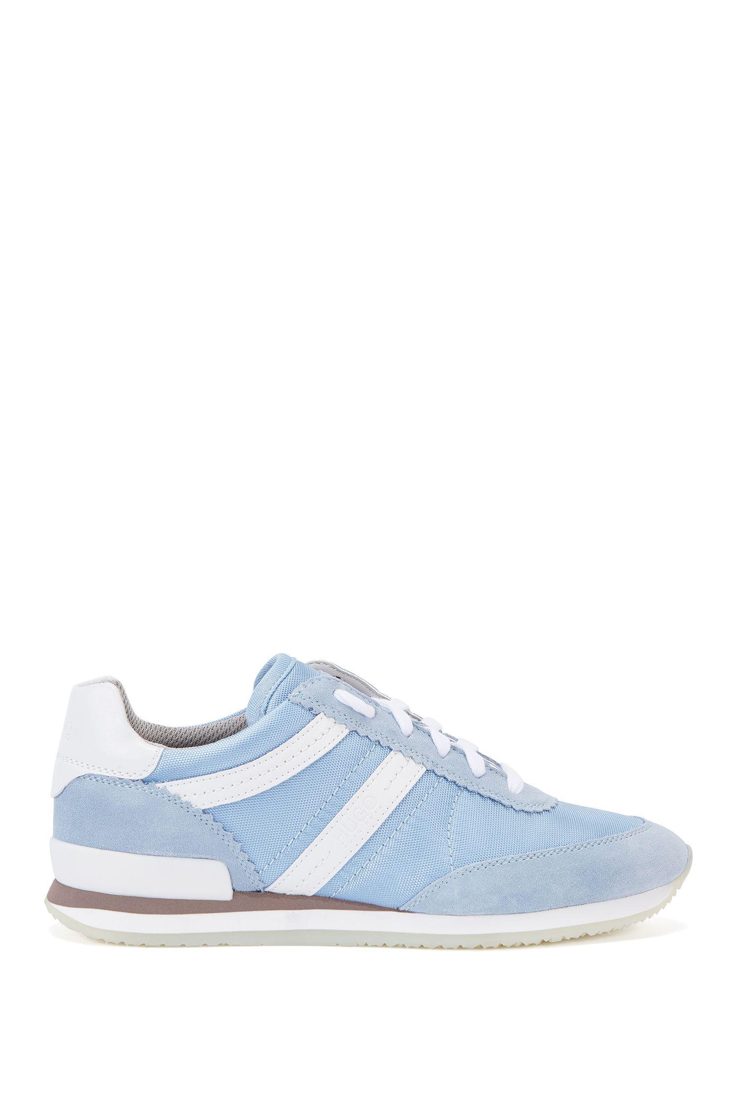 Sneakers mit Lederbesätzen: 'Adreny-S'