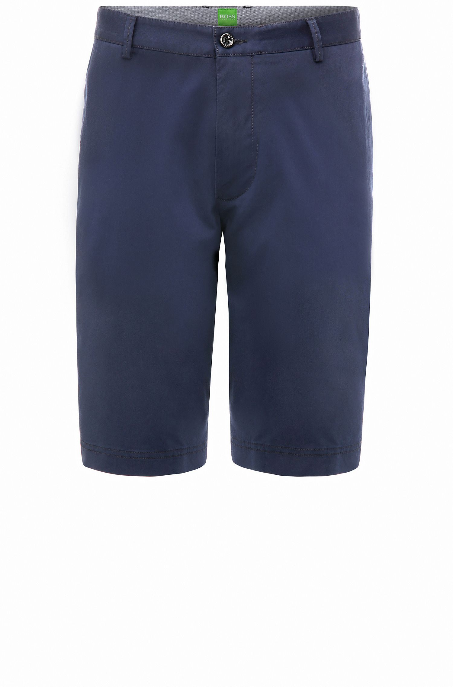 Short chino Regular Fit en coton stretch : « B-Claydon-W »