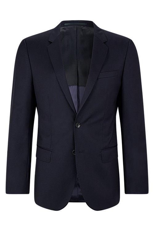 Hugo Boss - Slim-fit jacket in virgin wool - 1