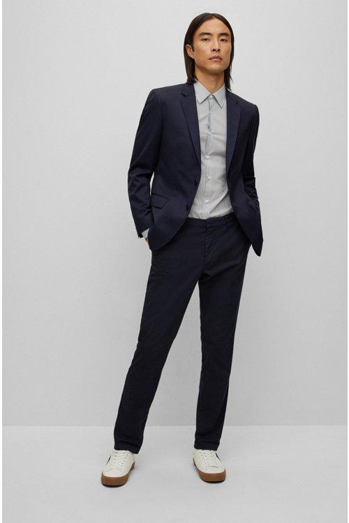 Hugo Boss - Slim-fit jacket in virgin wool - 2