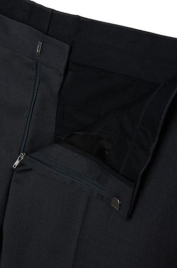 男士修身版羊毛长裤,  021_暗灰色