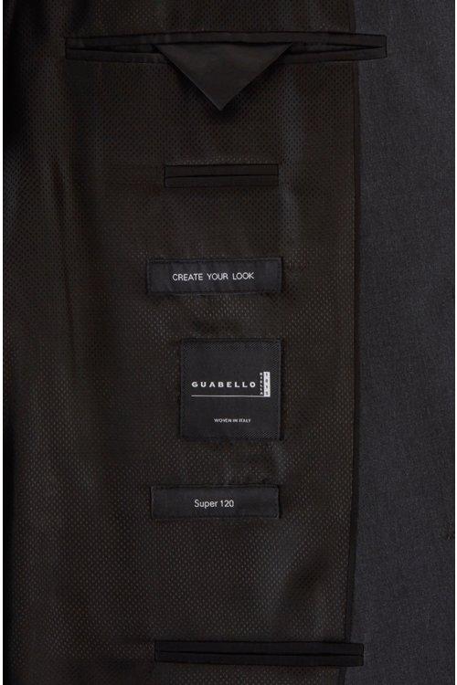 Hugo Boss - Chaqueta regular fit en lana virgen con costuras de imitación a mano - 9