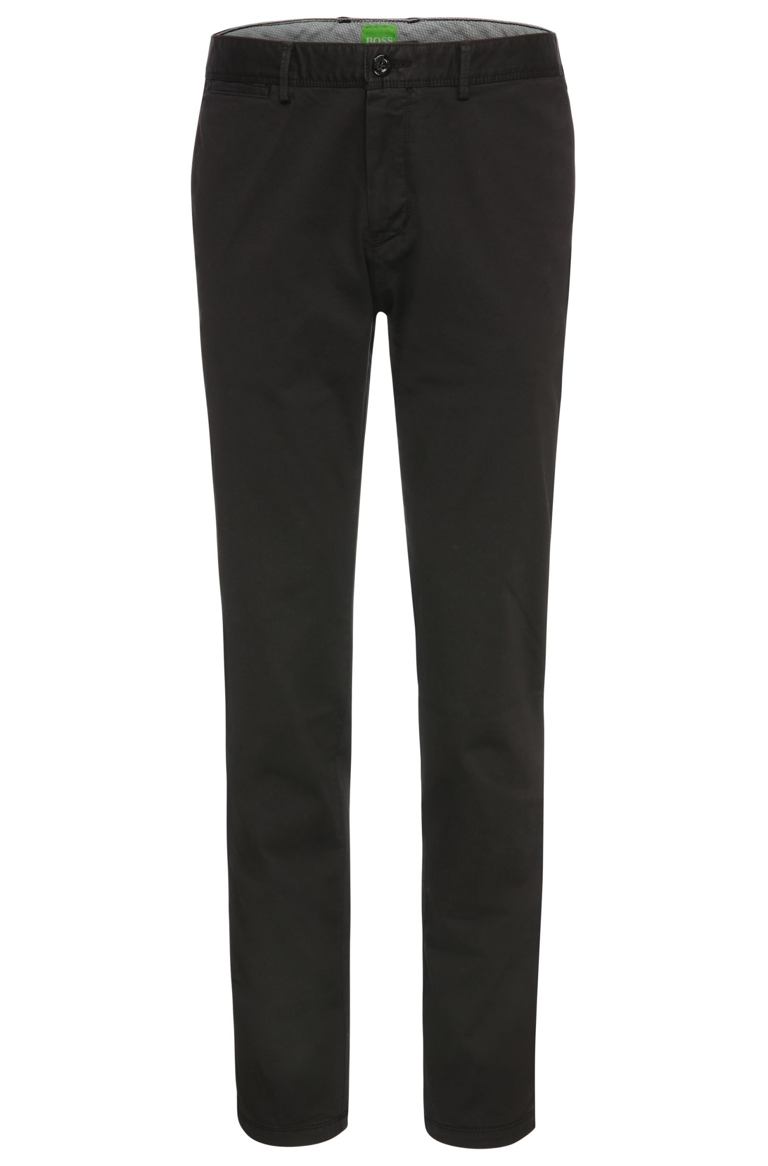 Regular-fit trousers in stretch cotton: 'C-Crigan2-4-D'