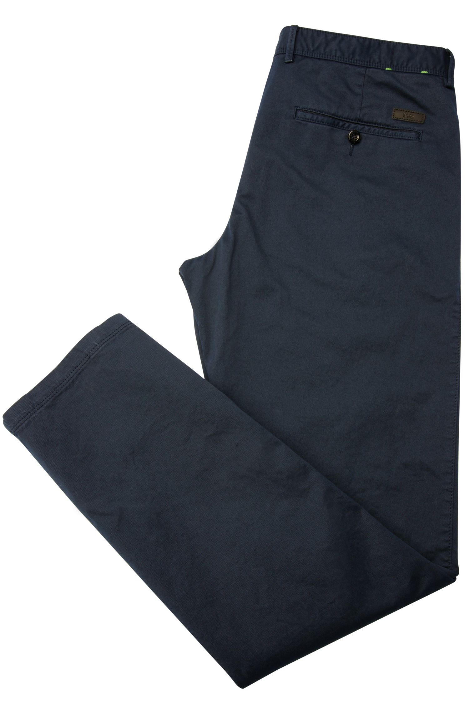 Pantaloni regular fit in cotone elasticizzato: 'C-Crigan2-4-D'