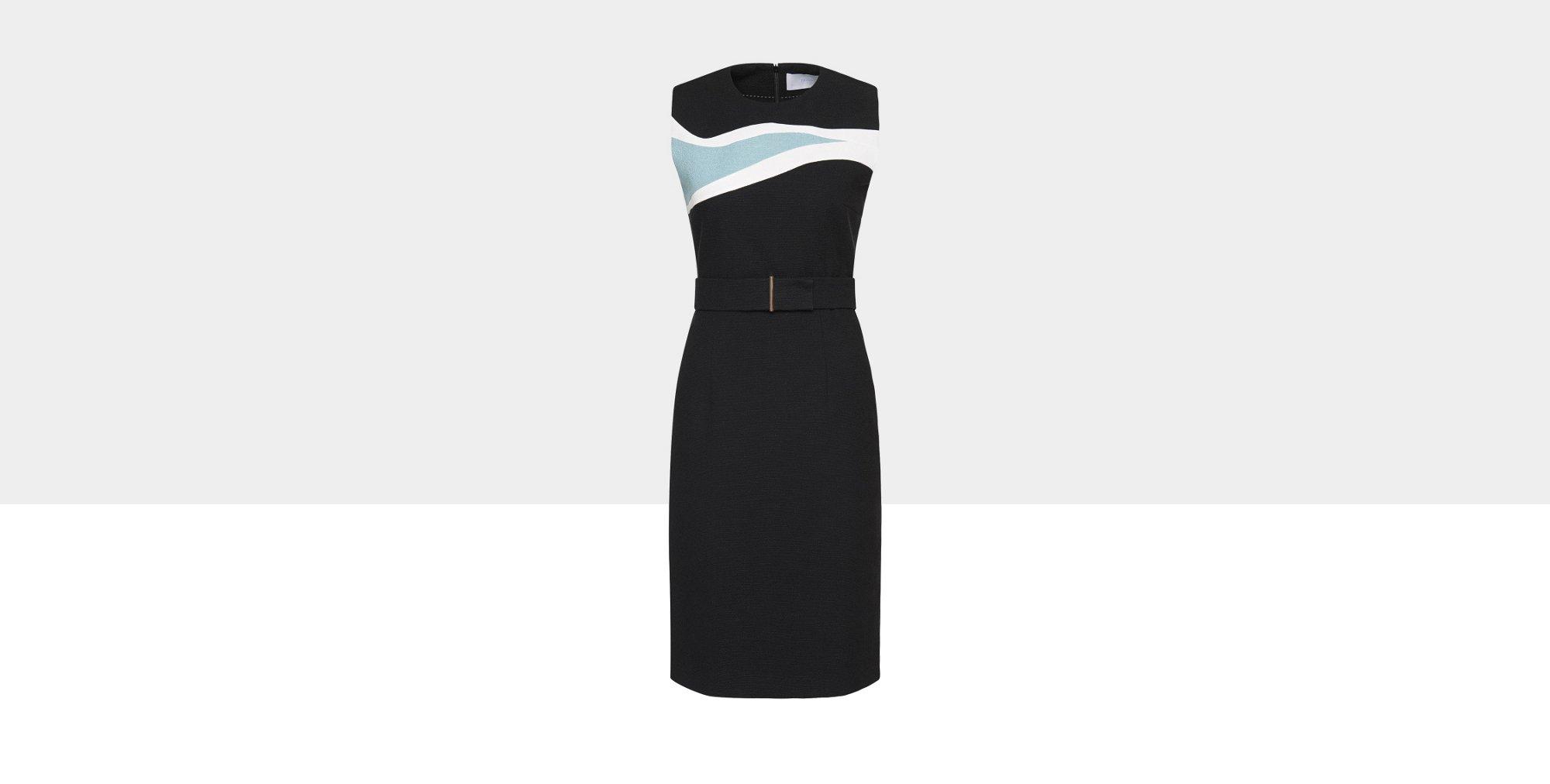 Schwarzes Kleid von BOSS