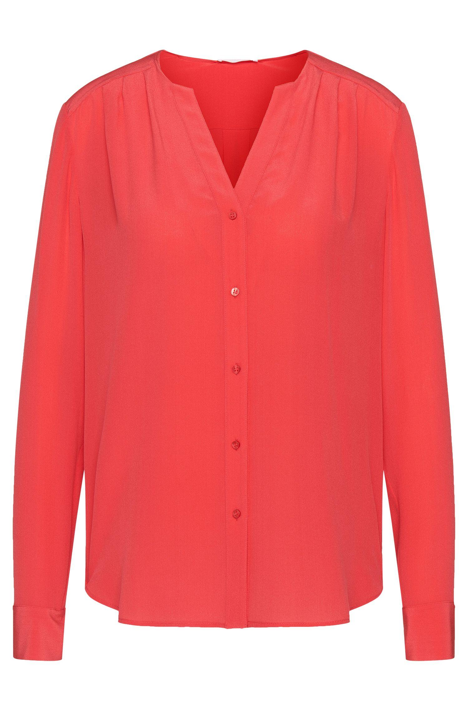 Blusa de seda con fruncidos discretos: 'Rosaline1'