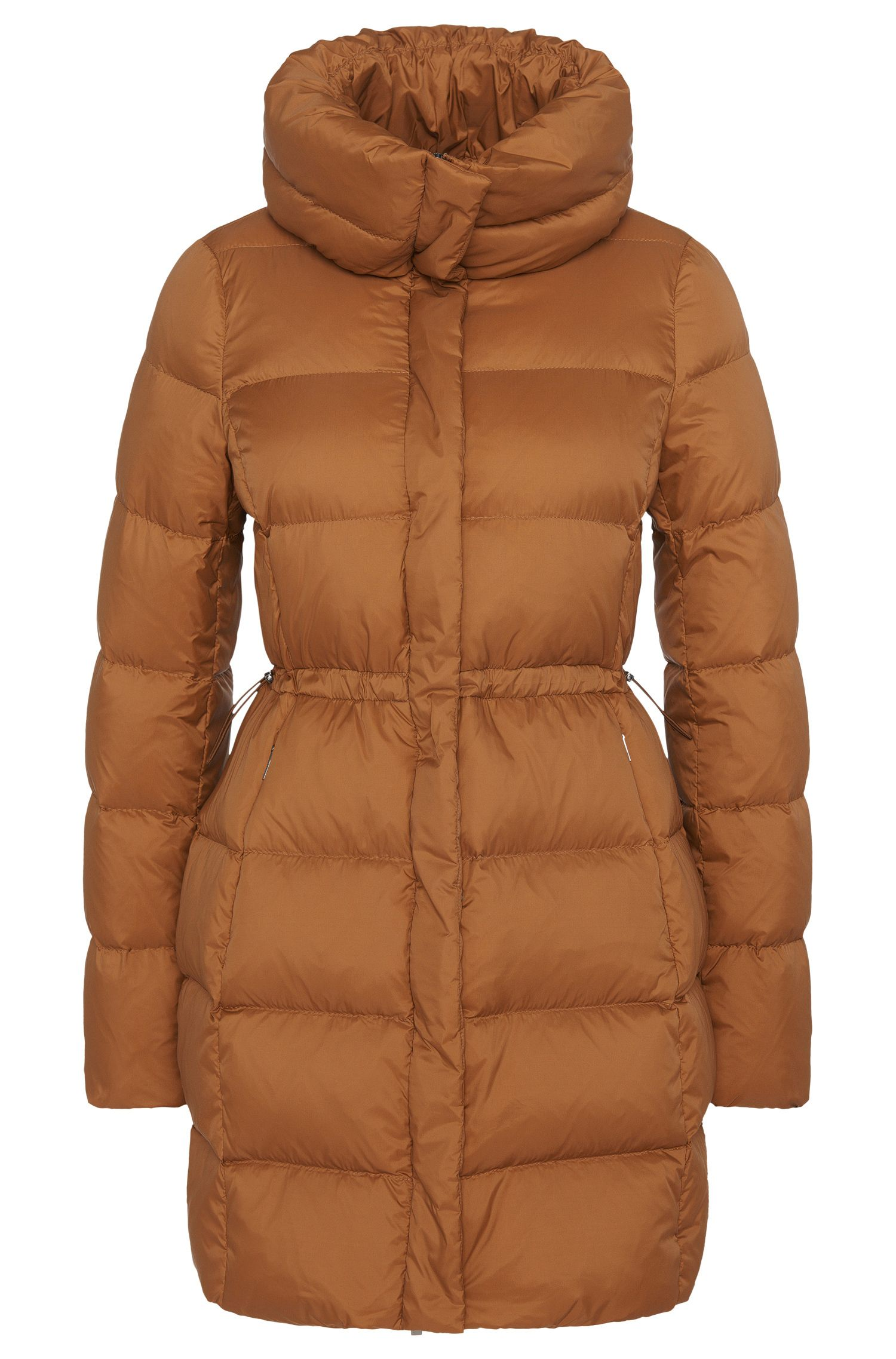 Manteau doudoune imperméable avec cordon de serrage: «Purena»