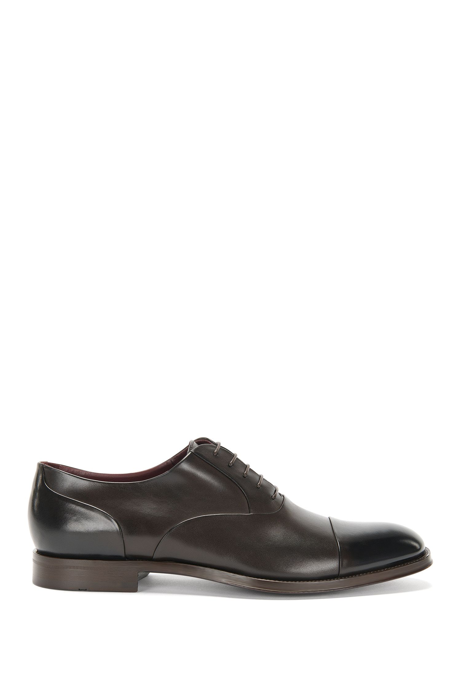 Tailored lace-up shoes in leather: 'T-Sartoria_Oxfr_ltct'