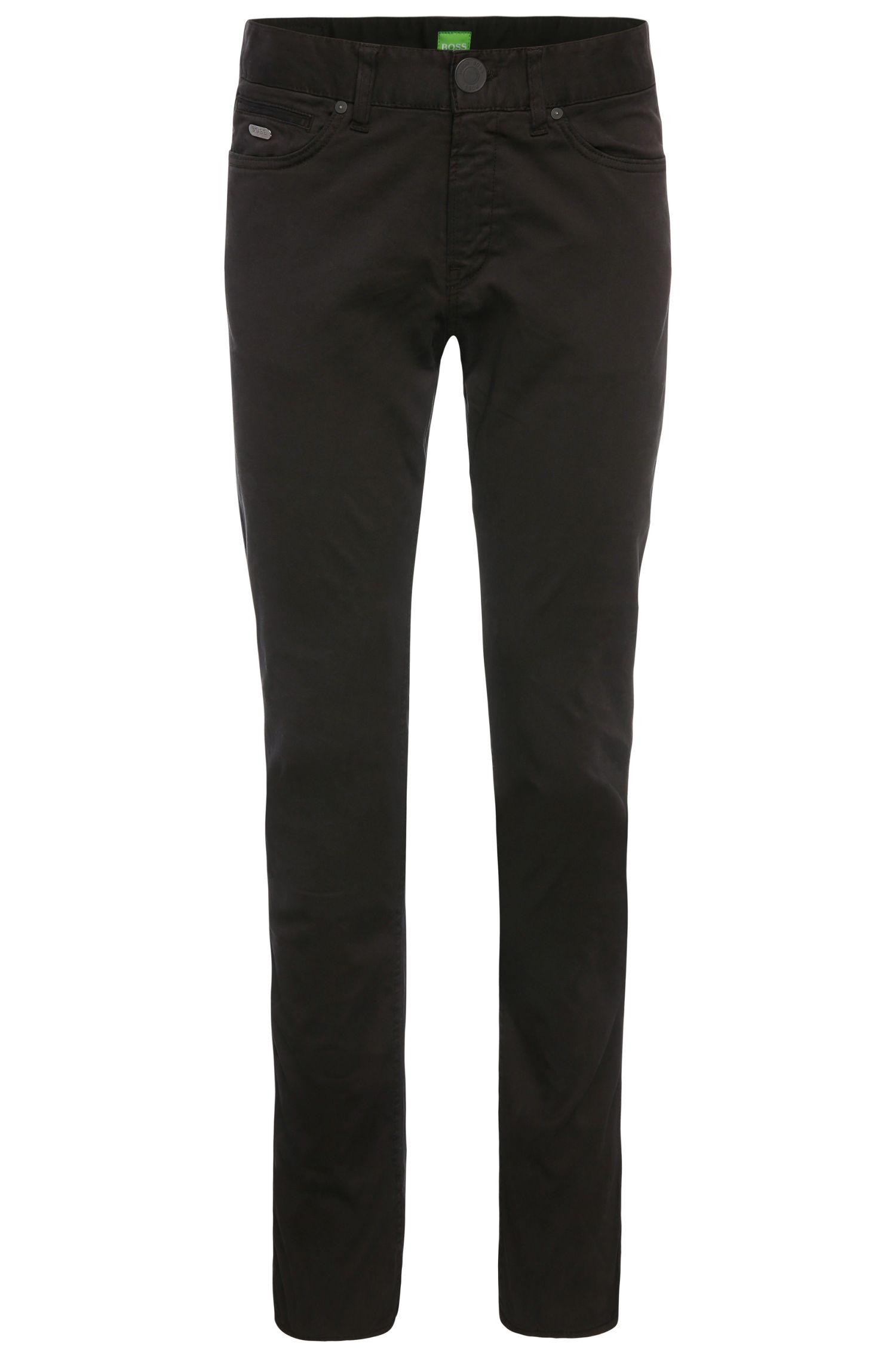 Pantaloni slim fit in cotone elasticizzato: 'C-Delaware2-3-20'