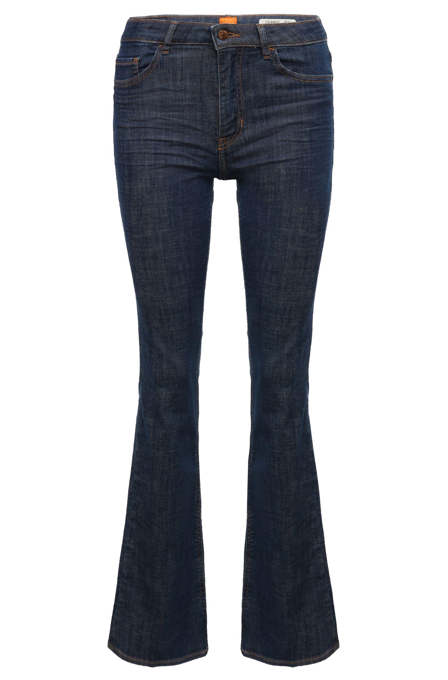 Flared Leg Jeans aus einem Baumwoll-Mix mit Elasthan: ´Orange J50 Geneve`