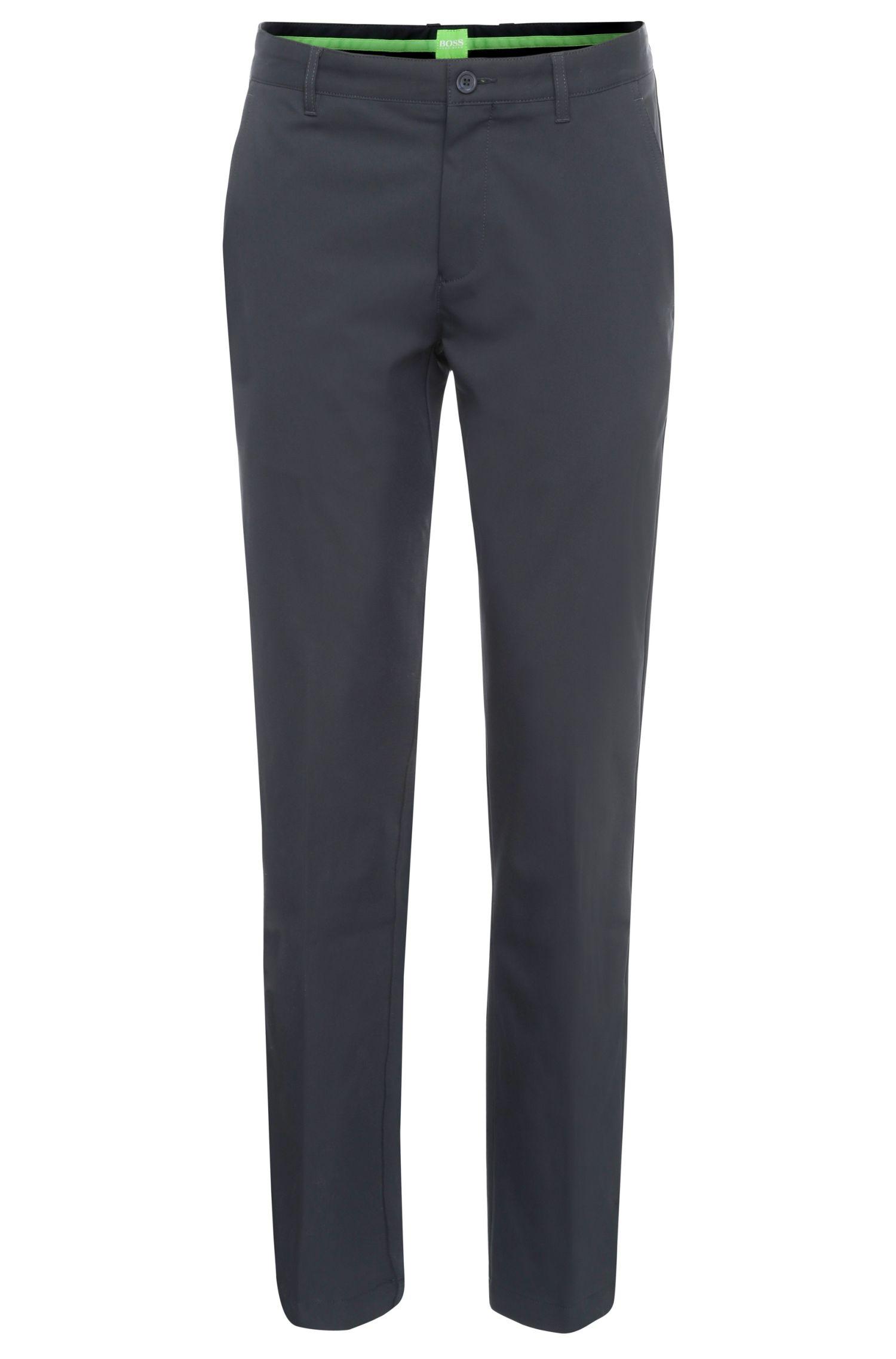 Pantalón slim fit en tejido suave: 'Hakan 9'