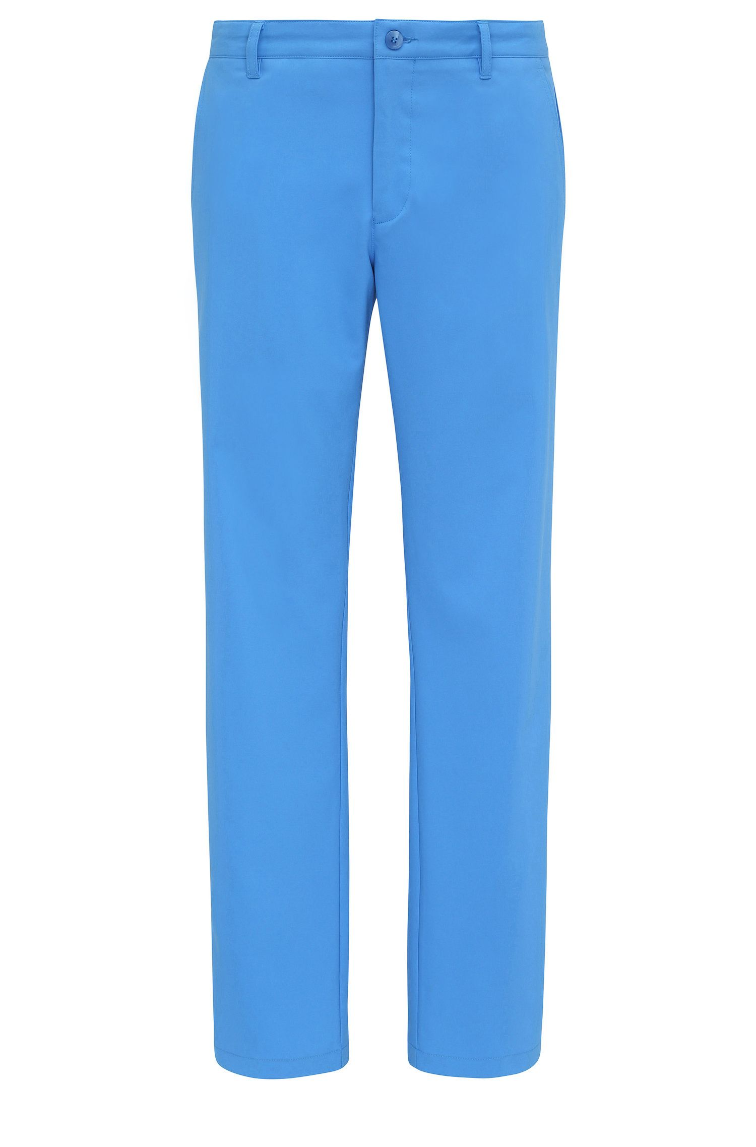 Pantaloni slim fit in tessuto morbido: 'Hakan 9'