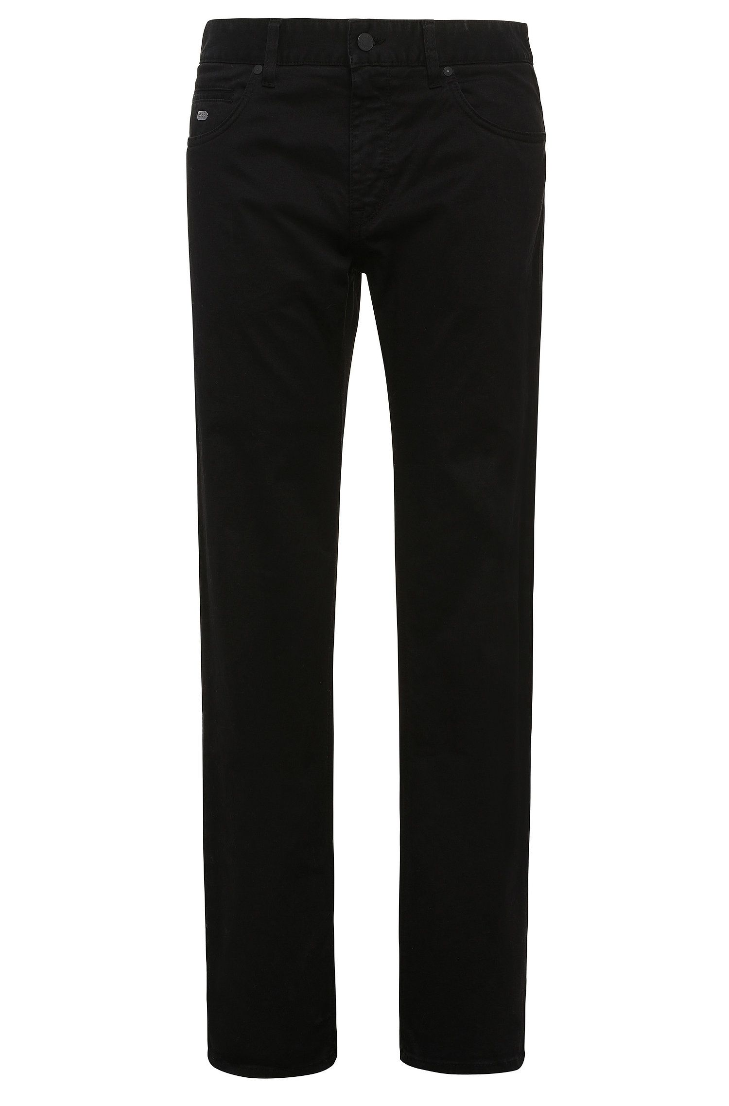 Pantalon Regular Fit en coton stretch : « C-Maine1-1-20 »