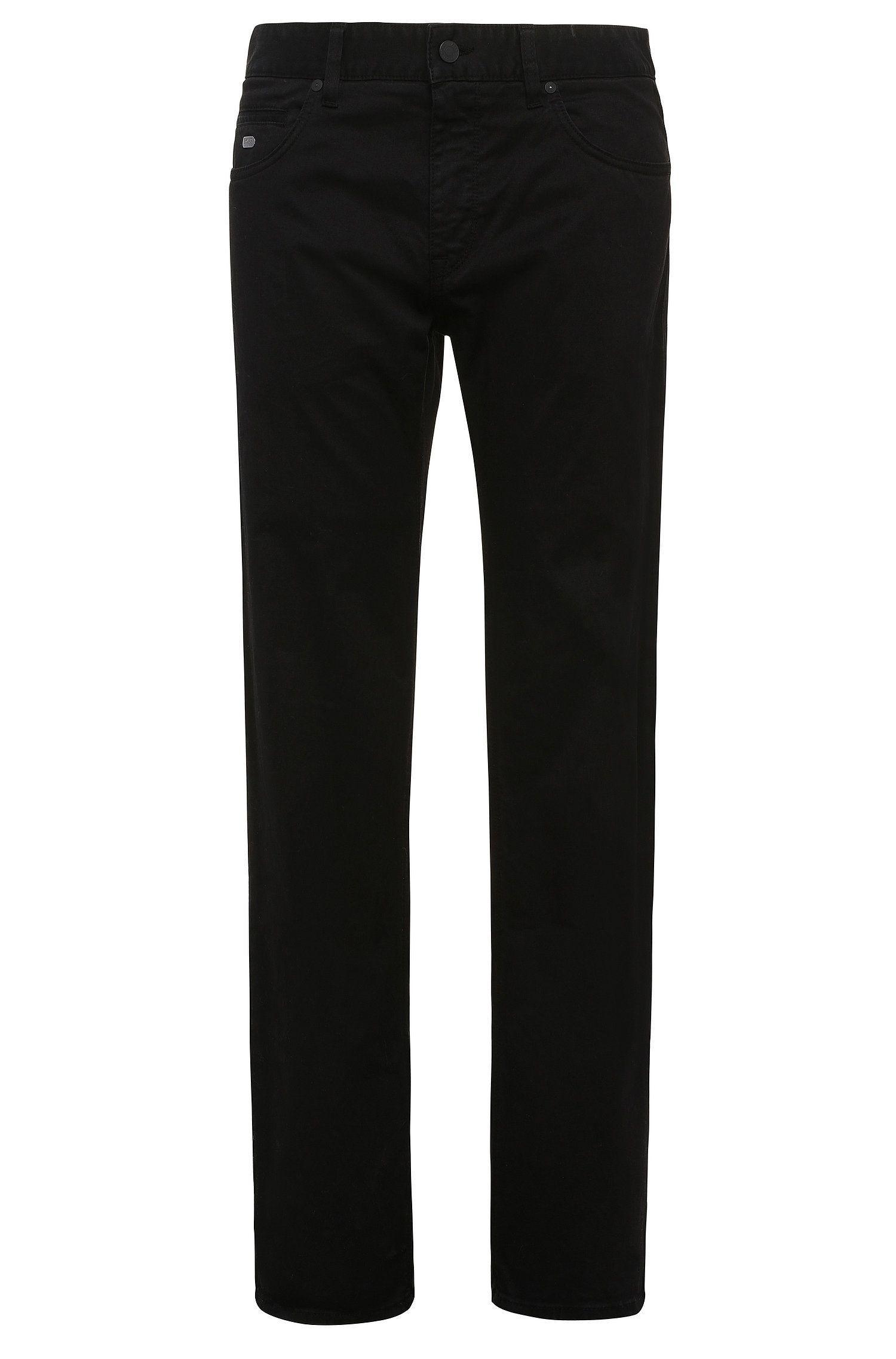 Regular-fit broek van stretchkatoen: 'C-Maine1-1-20'