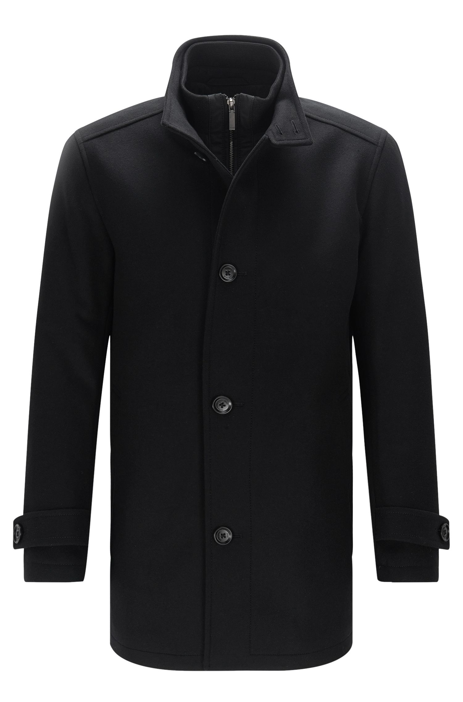 Jacket in new-wool blend with cashmere: 'Camlow'