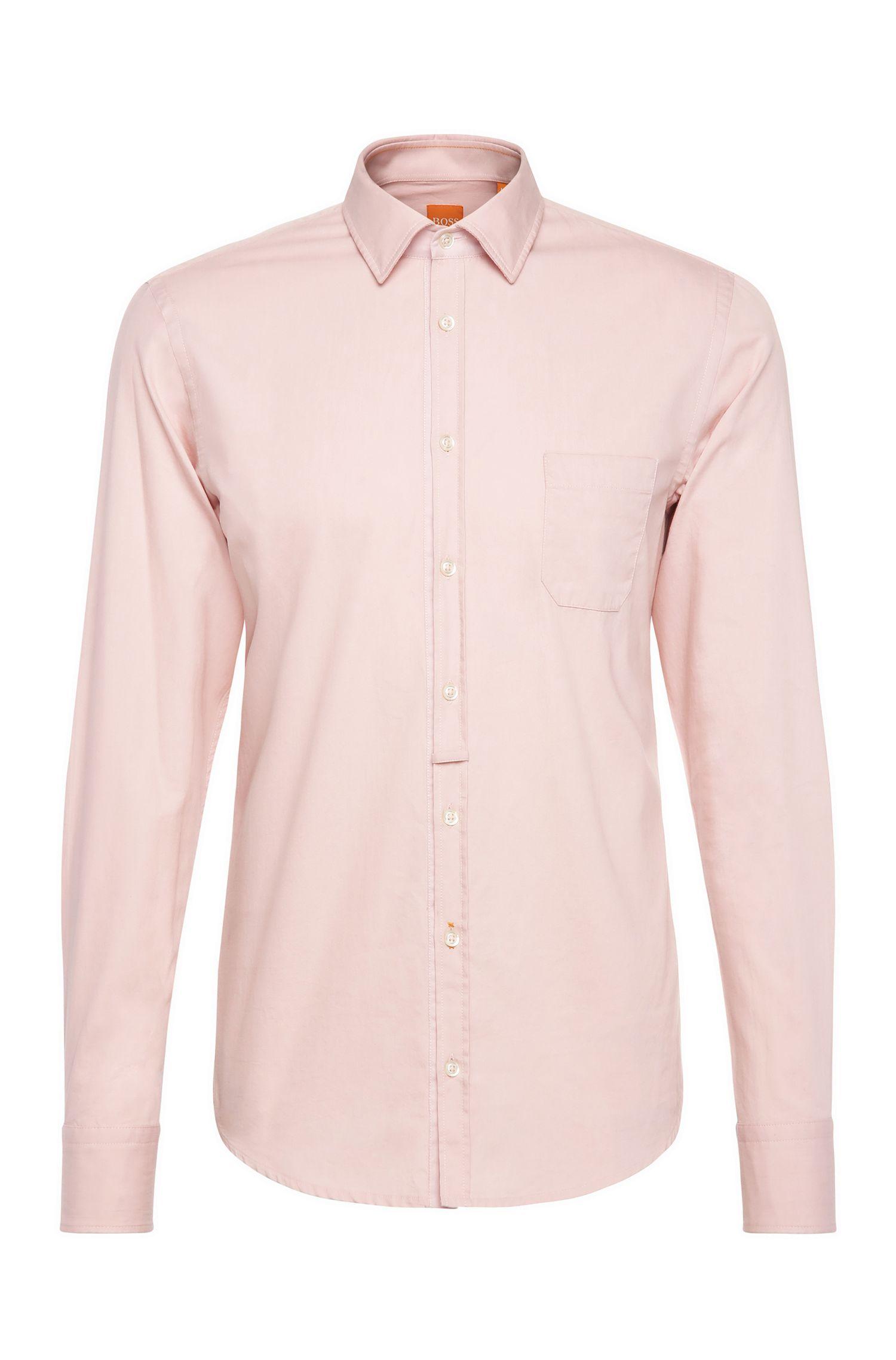 Camisa slim fit en algodón ligero: 'EslimE_1'