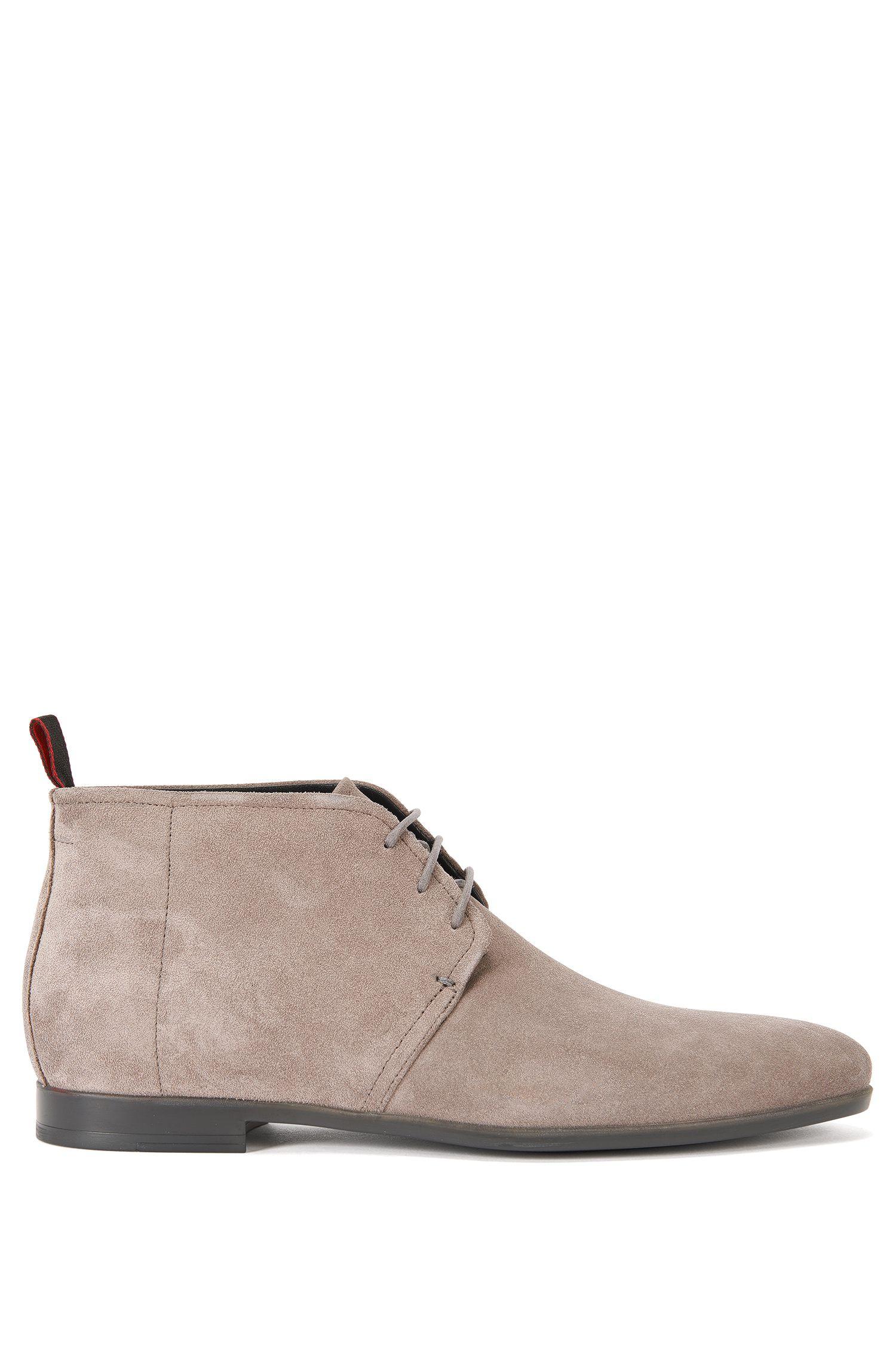Zapatos de cordón hasta el tobillo en ante: 'Pariss_Desb_3sd'