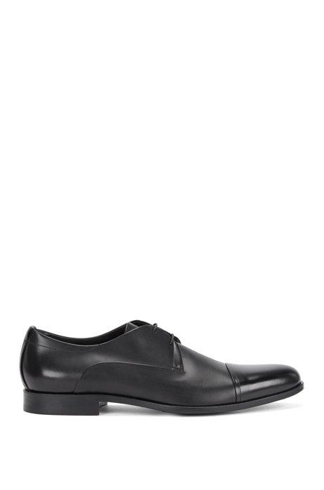 Leather lace-up shoes: 'Sigma_Derb_ltct', Black
