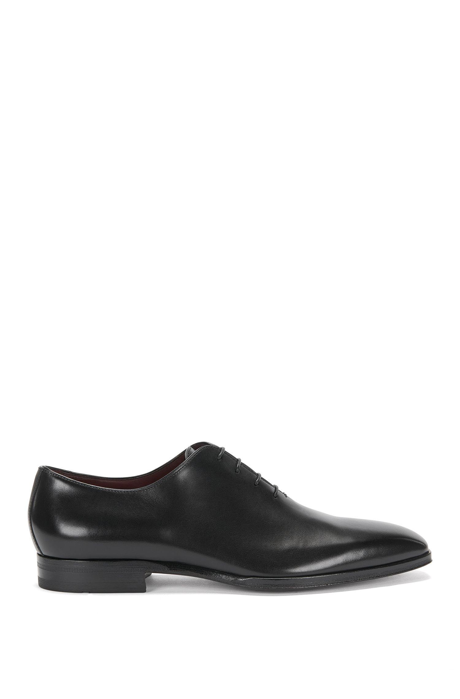 Chaussures Oxford BOSS Tailored en cuir poli