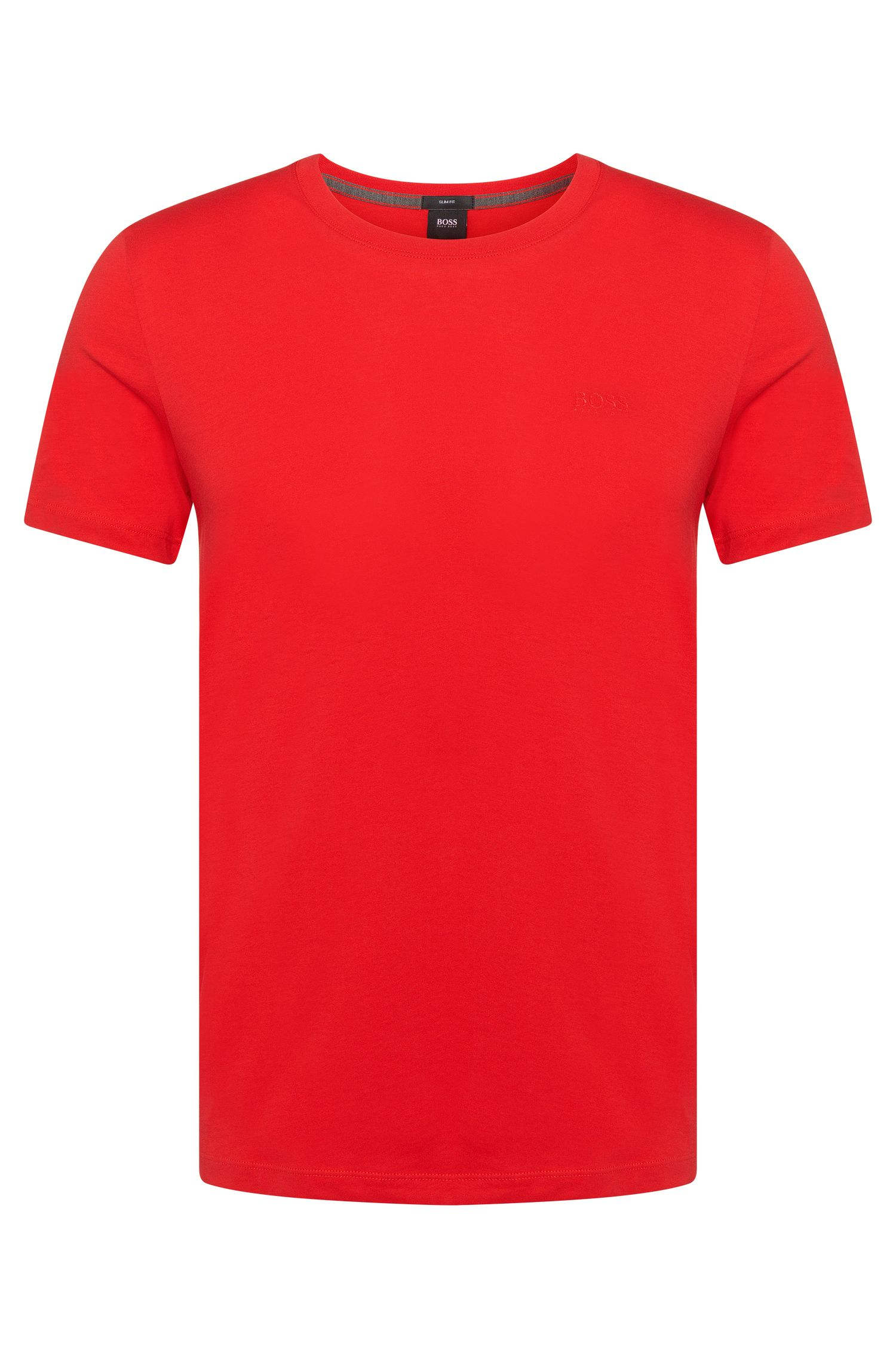 T-shirt Slim Fit en coton: «Tessler33»